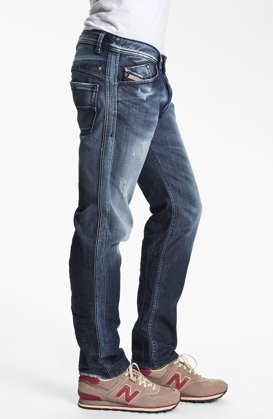 Alternate Image 3  - DIESEL® 'Darron' Slim Fit Jeans (0810L)