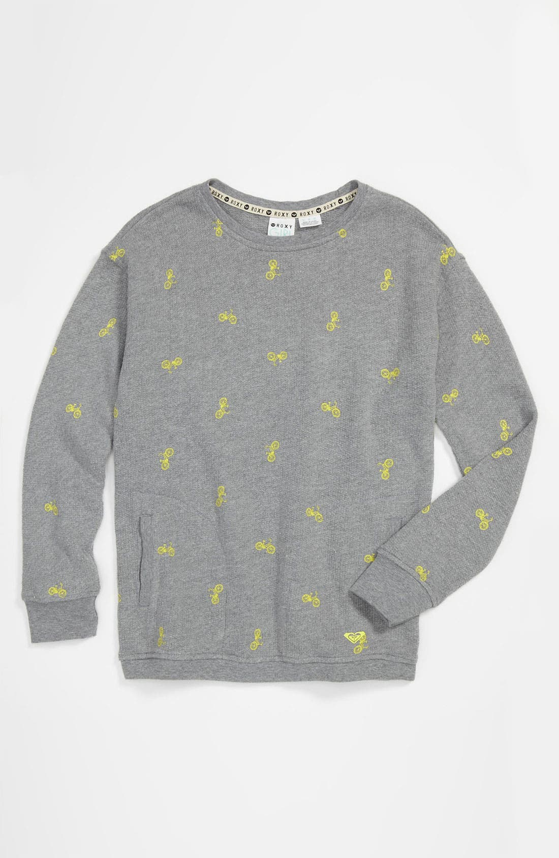 Main Image - 'Gum Drops' Terry Cloth Sweater (Little Girls)