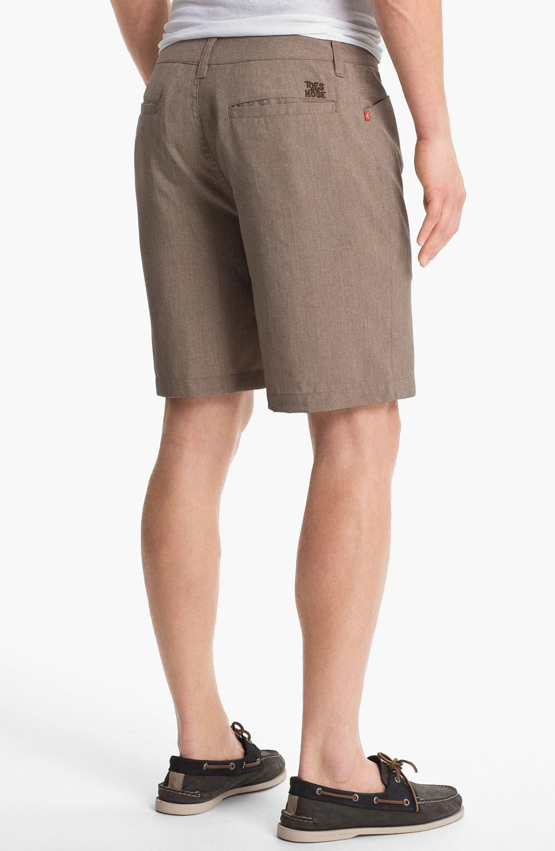 Alternate Image 2  - Toes on the Nose 'Rocker' Khaki Shorts