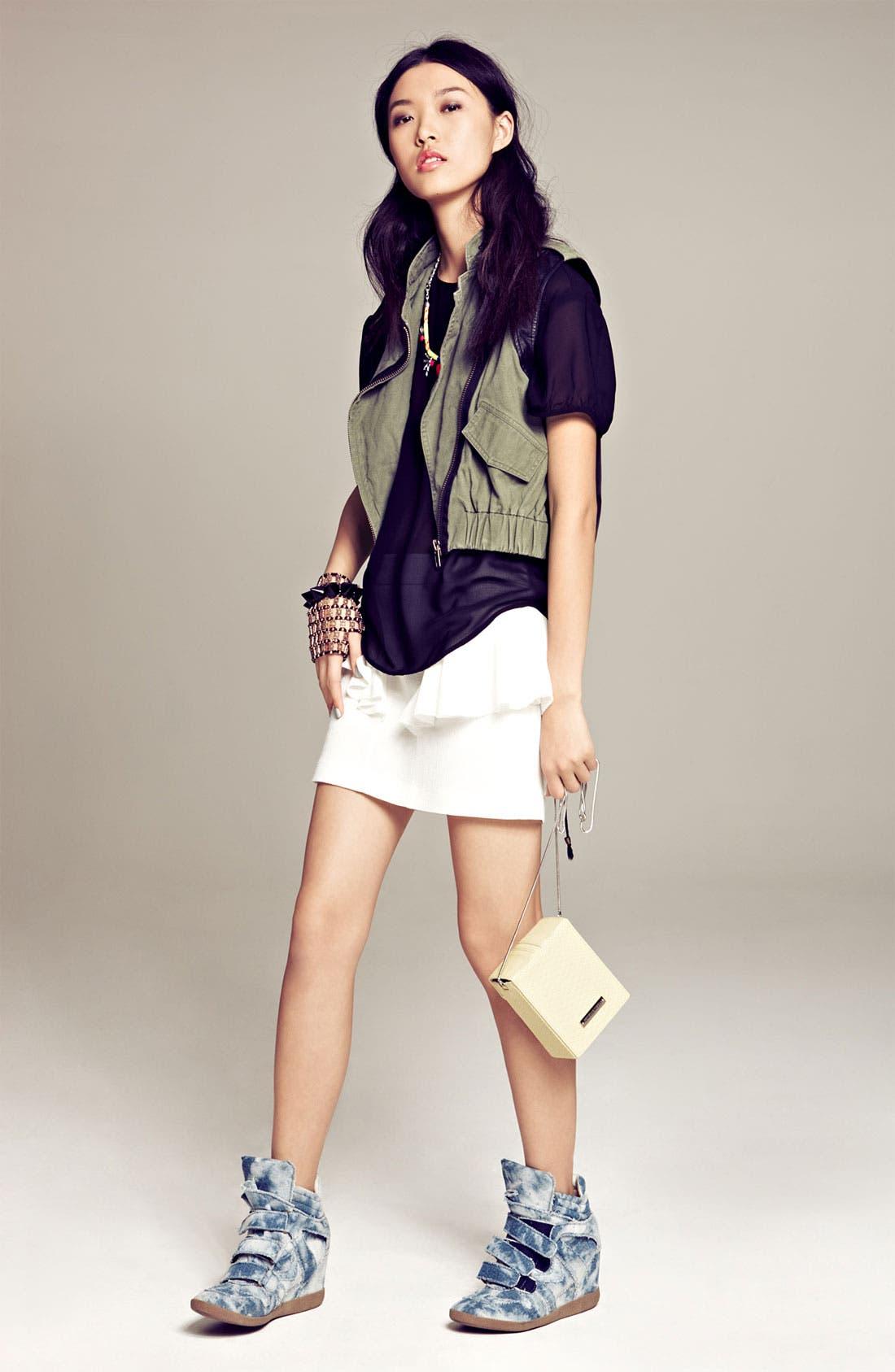 Alternate Image 5  - Tildon Side Ruffle Skirt