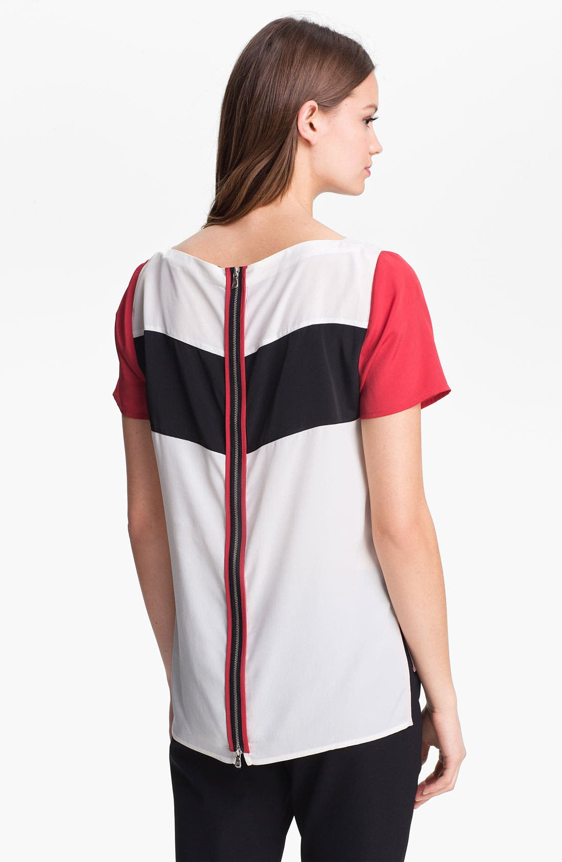 Alternate Image 2  - Kenneth Cole New York 'Alona' Stripe Blouse