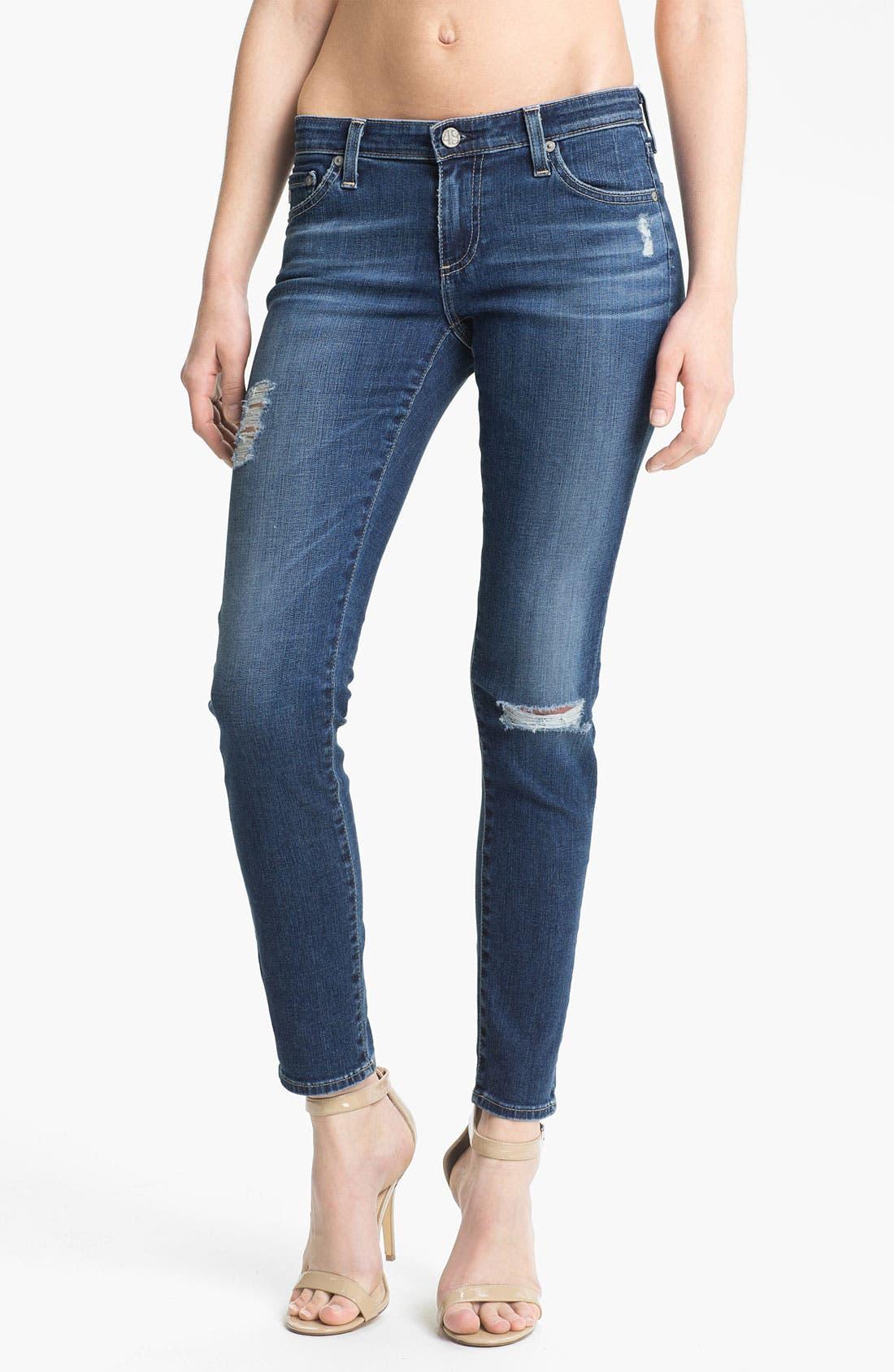Alternate Image 1 Selected - AG The Legging Ankle Jeans