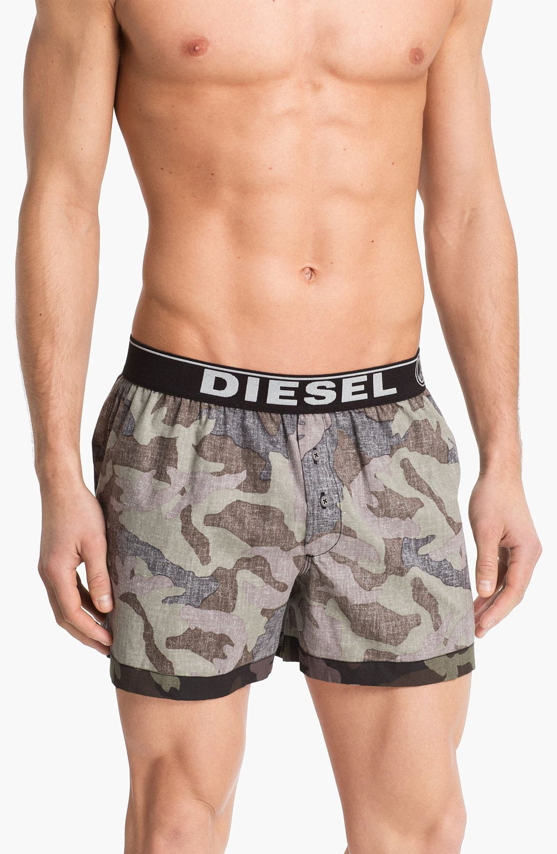 Alternate Image 1 Selected - DIESEL® Camo Print Boxers