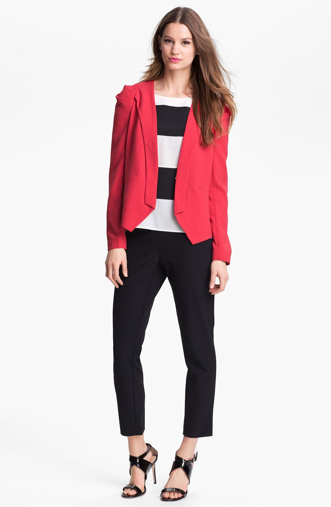 Alternate Image 4  - Kenneth Cole New York 'Alona' Stripe Blouse