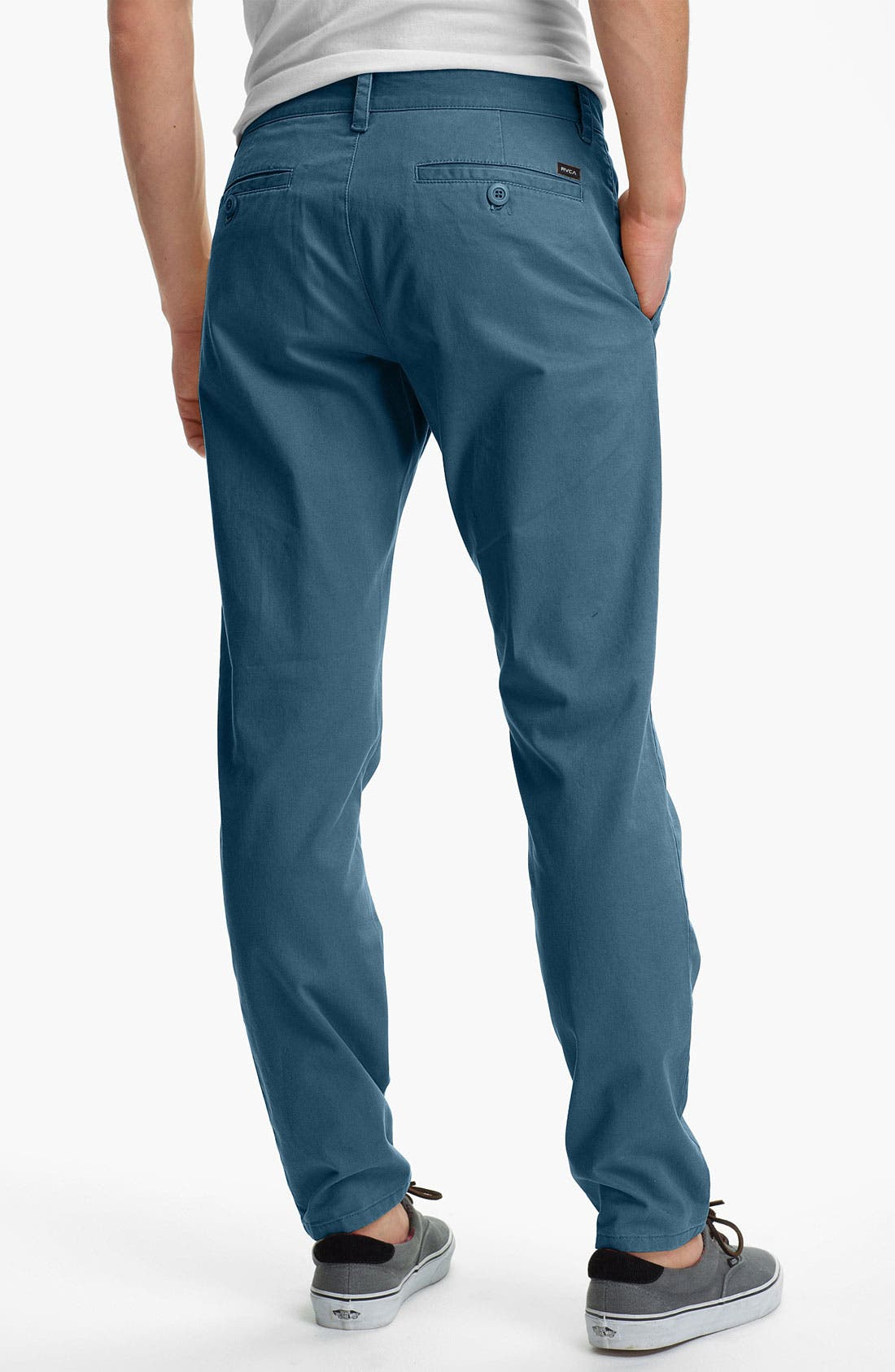 Alternate Image 2  - RVCA 'All Time' Slim Straight Leg Chinos