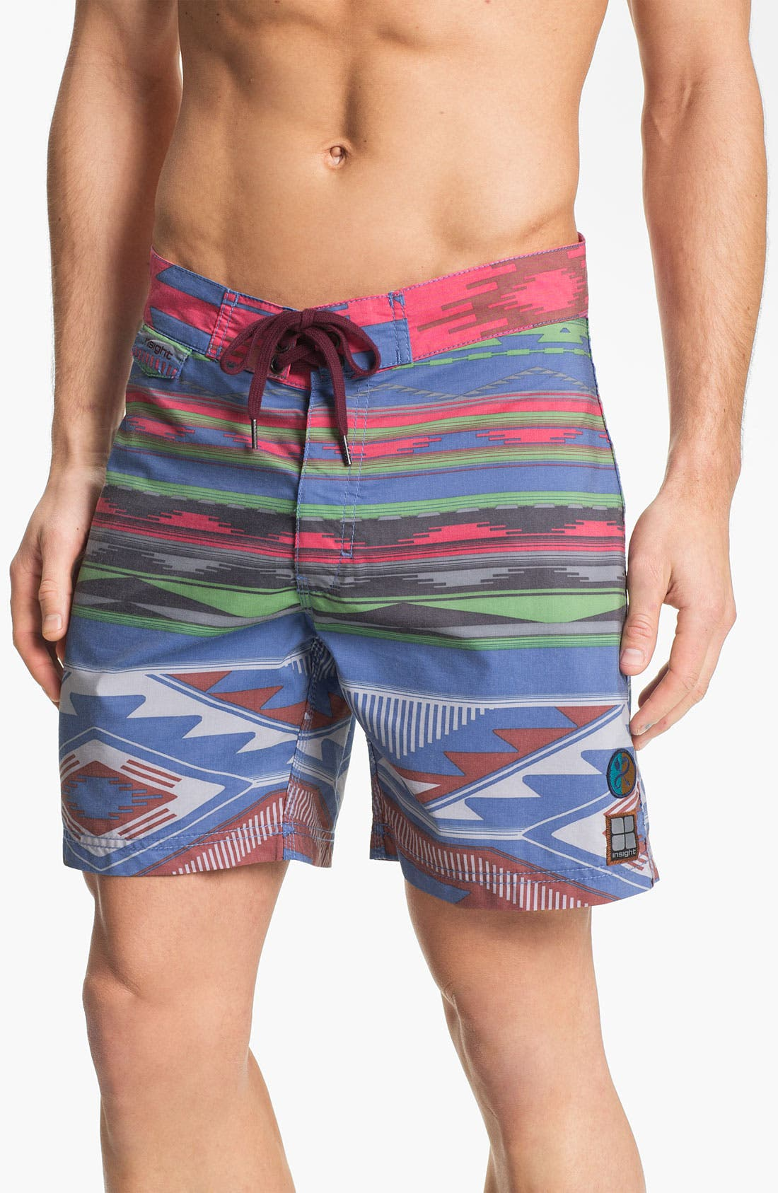 Alternate Image 1 Selected - Insight Pattern Board Shorts