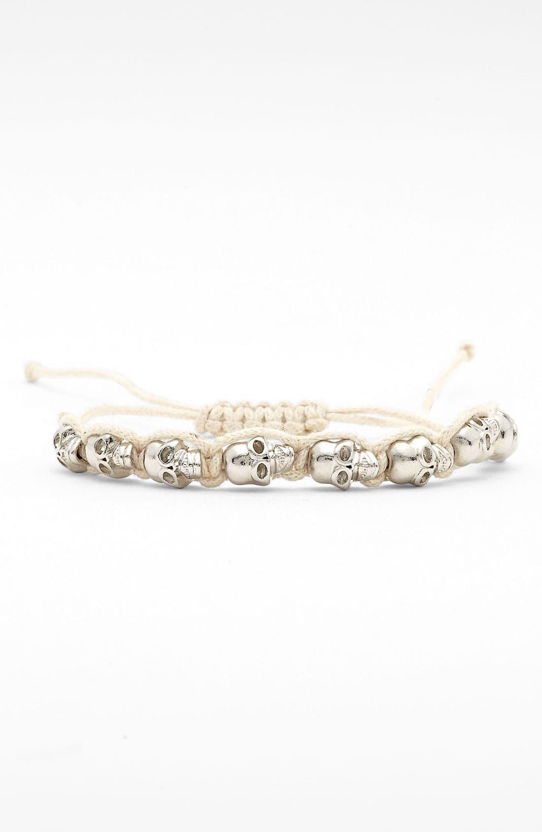 Alternate Image 1 Selected - Carole Skull Friendship Bracelet