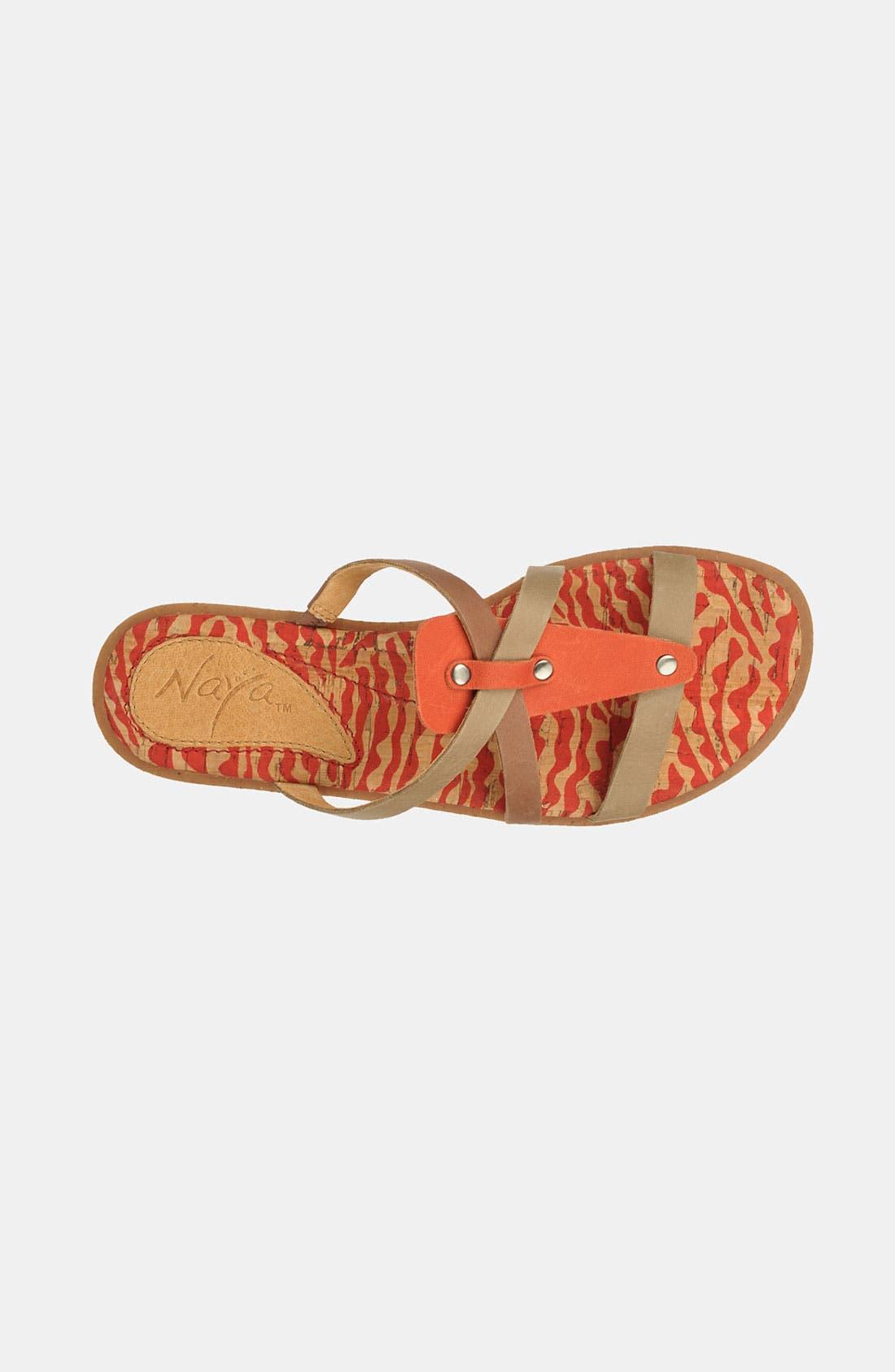 Alternate Image 3  - Naya 'Painted Sock' Sandal