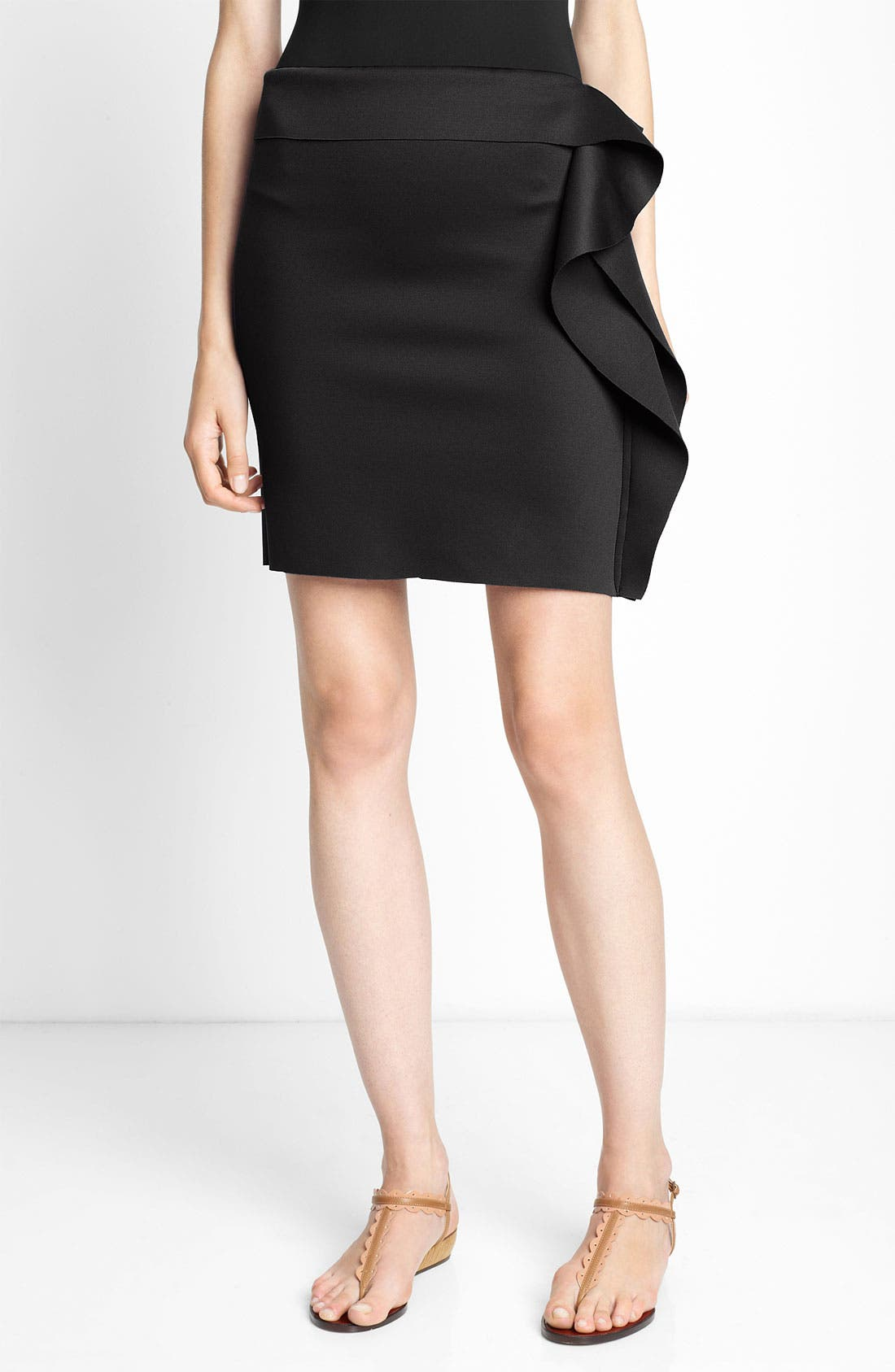 Alternate Image 1 Selected - Lanvin Ruffle Cover-Up Skirt