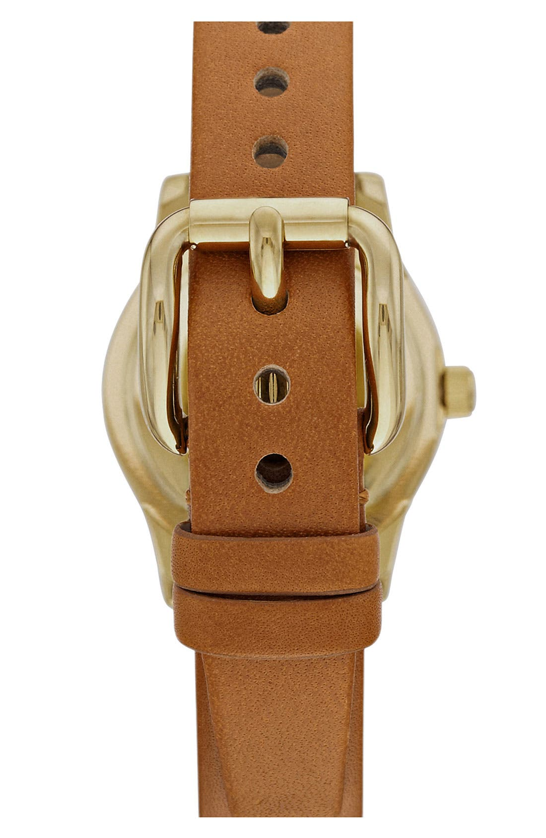 Alternate Image 3  - MARC BY MARC JACOBS 'Small Blade' Leather Strap Watch, 26mm