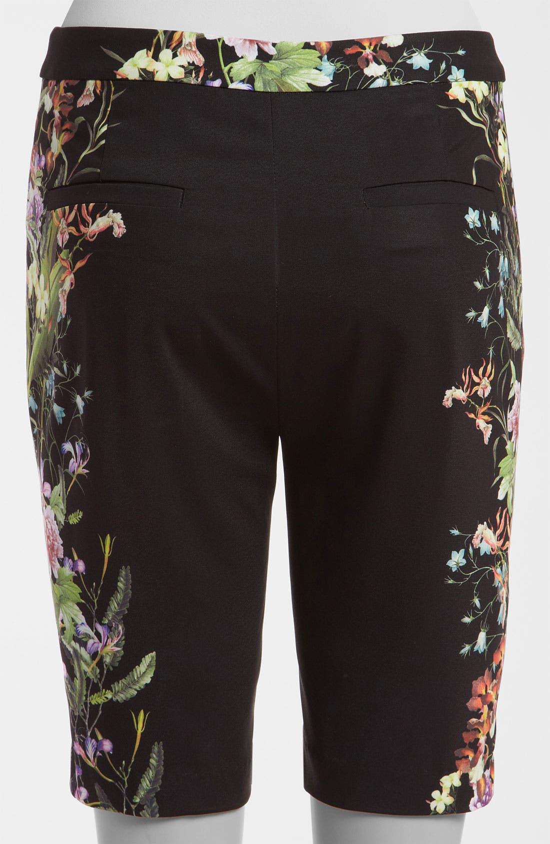 Alternate Image 3  - Mural Flower Print Shorts