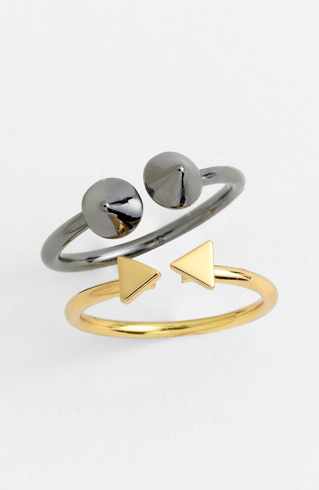 Alternate Image 2  - Kitsch 'On Point' Adjustable Rings