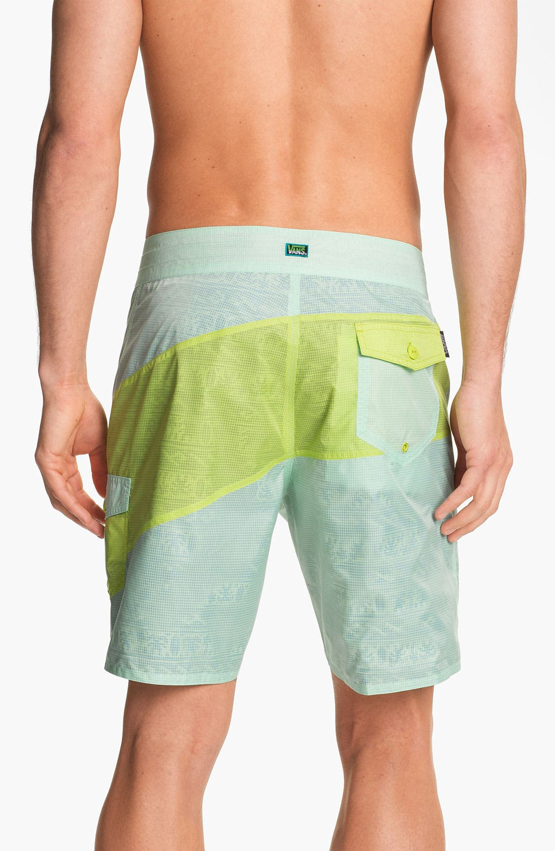 Alternate Image 4  - Vans 'Slasher' Reversible Board Shorts