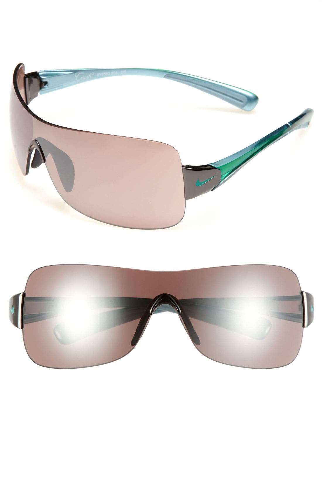 Alternate Image 1 Selected - Nike 'Crush Speed' 61mm Shield Sunglasses