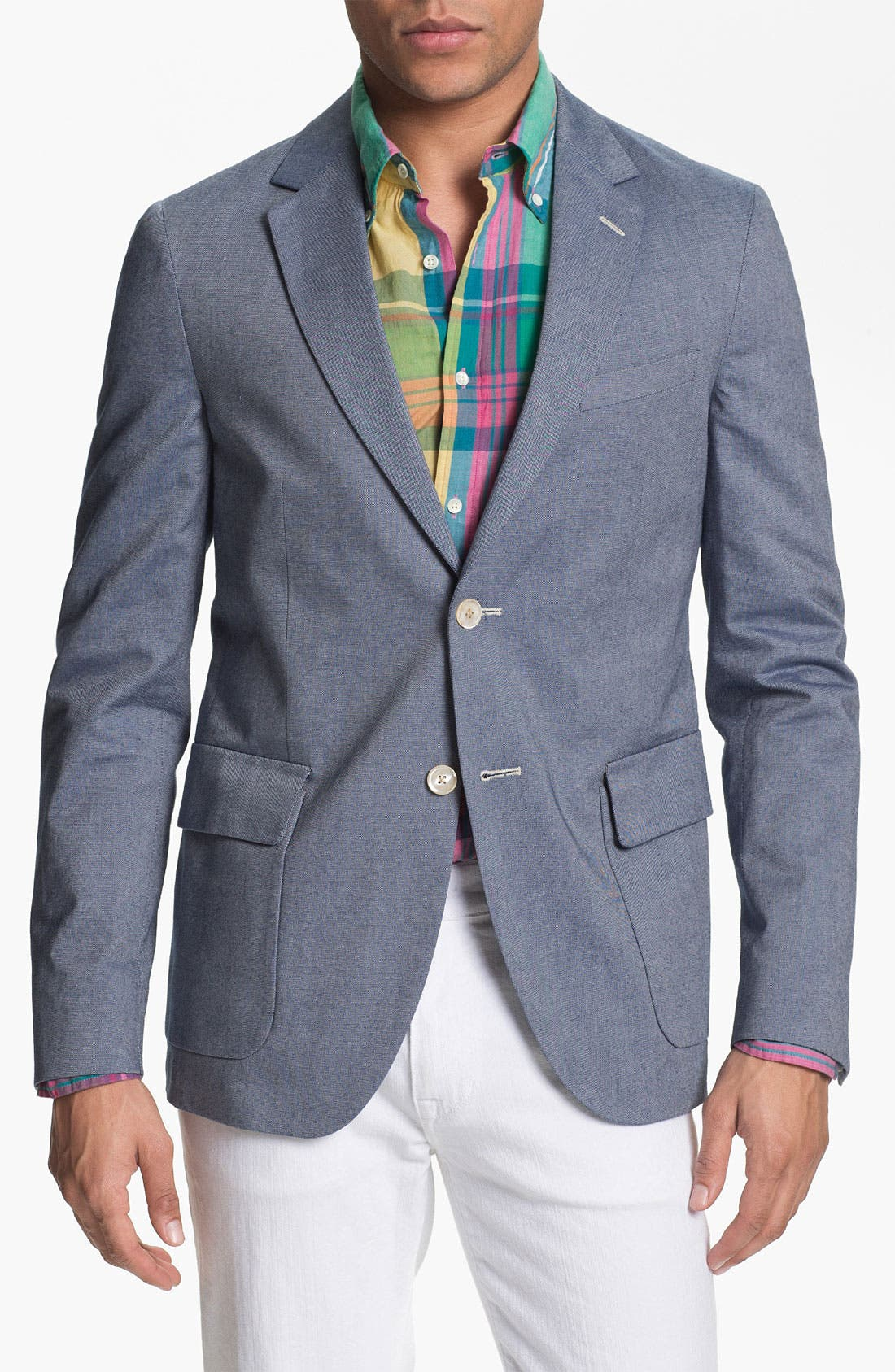 Alternate Image 1 Selected - Gant Rugger Oxford Blazer