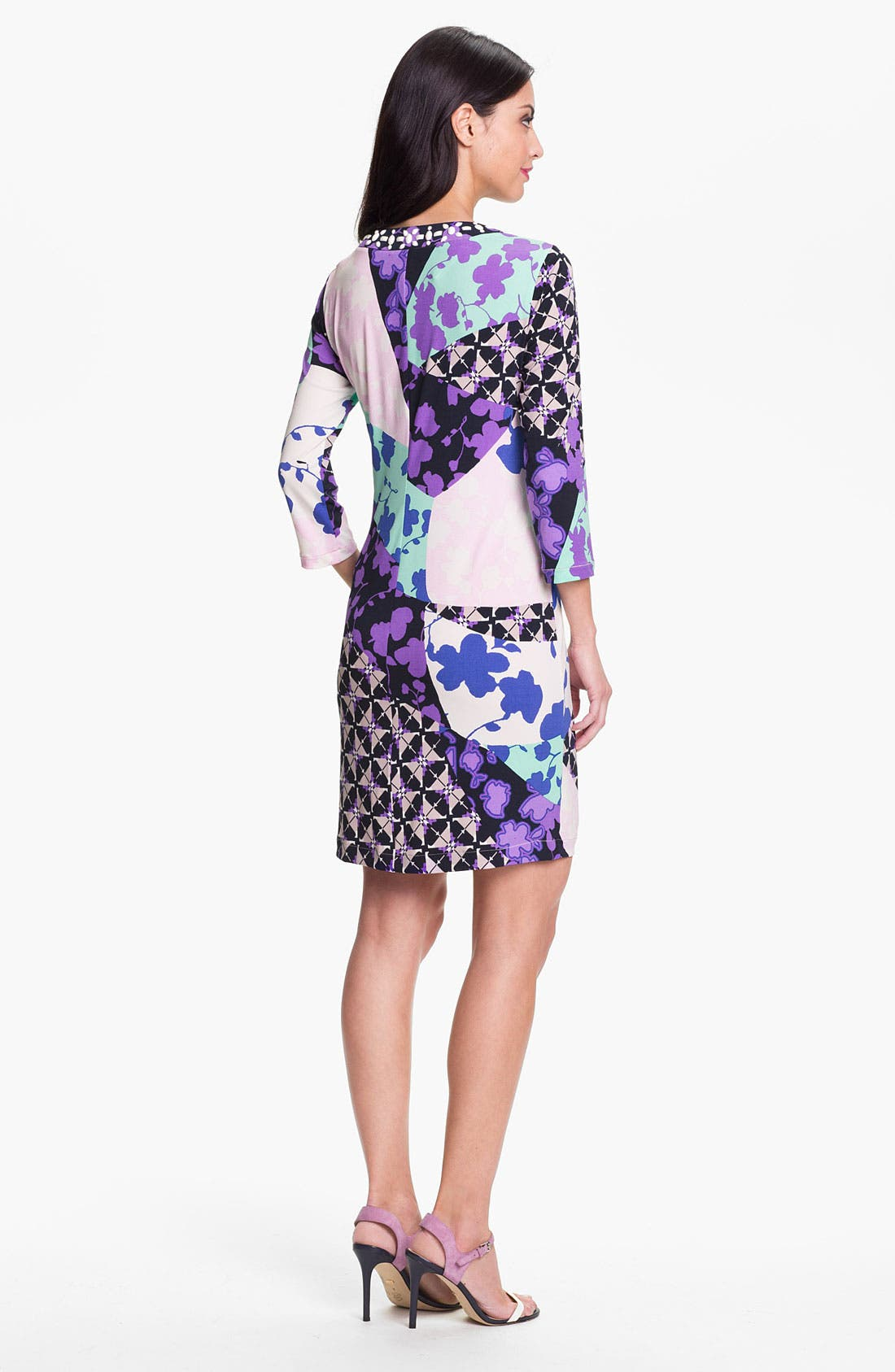 Alternate Image 2  - Donna Morgan 'Misha' Print Shift Dress