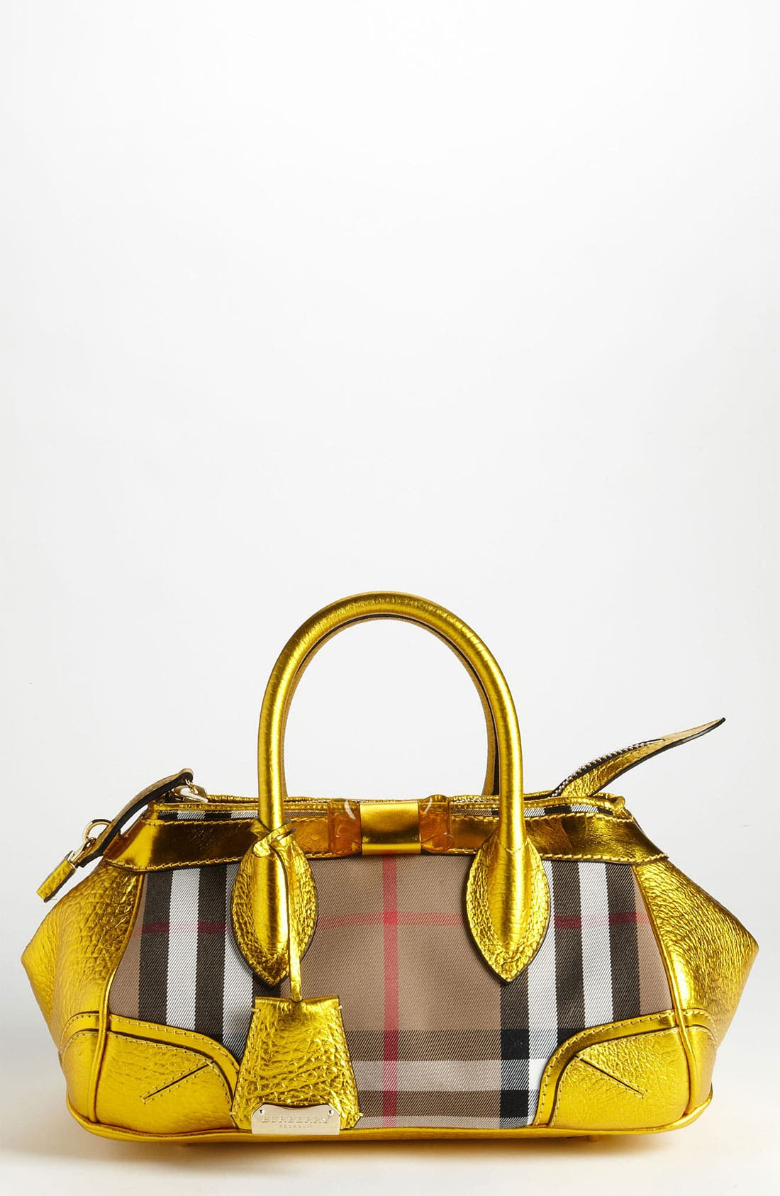 Main Image - Burberry Prorsum 'Blaze' House Check Handbag
