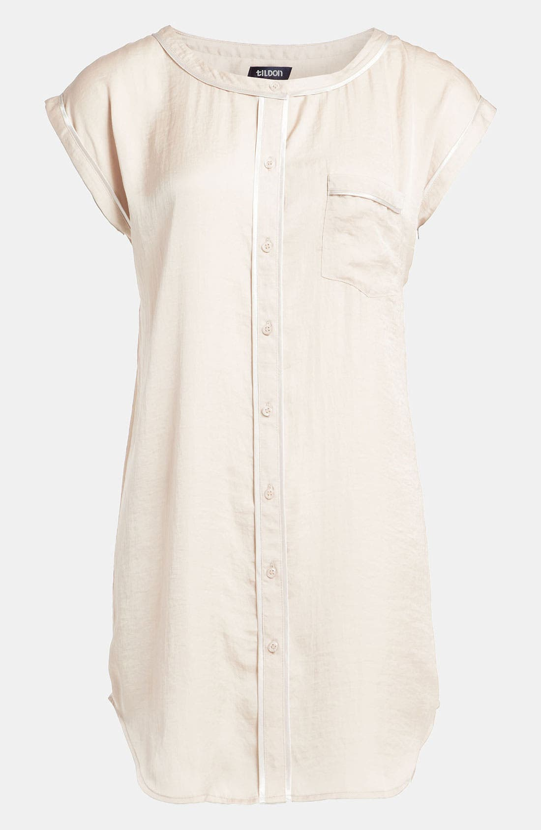 Alternate Image 1 Selected - Tildon 'Pajama' Tunic Top