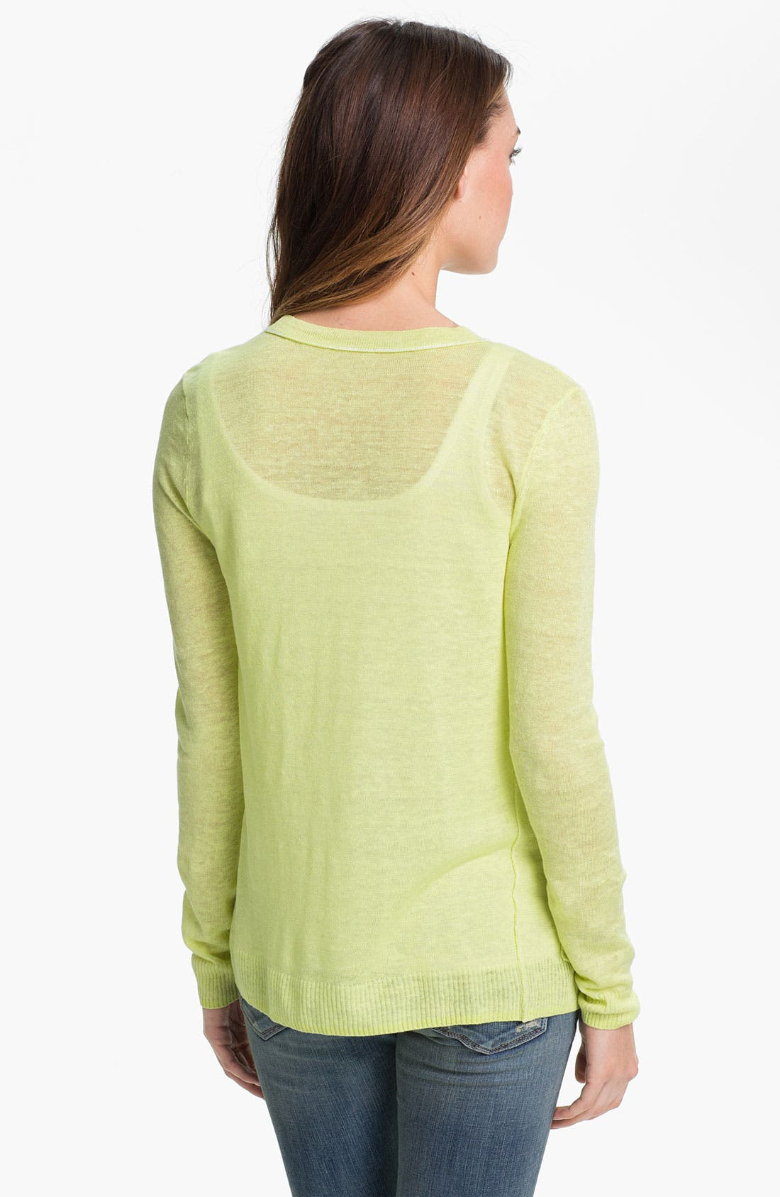 Alternate Image 2  - Caslon V-Neck Cardigan