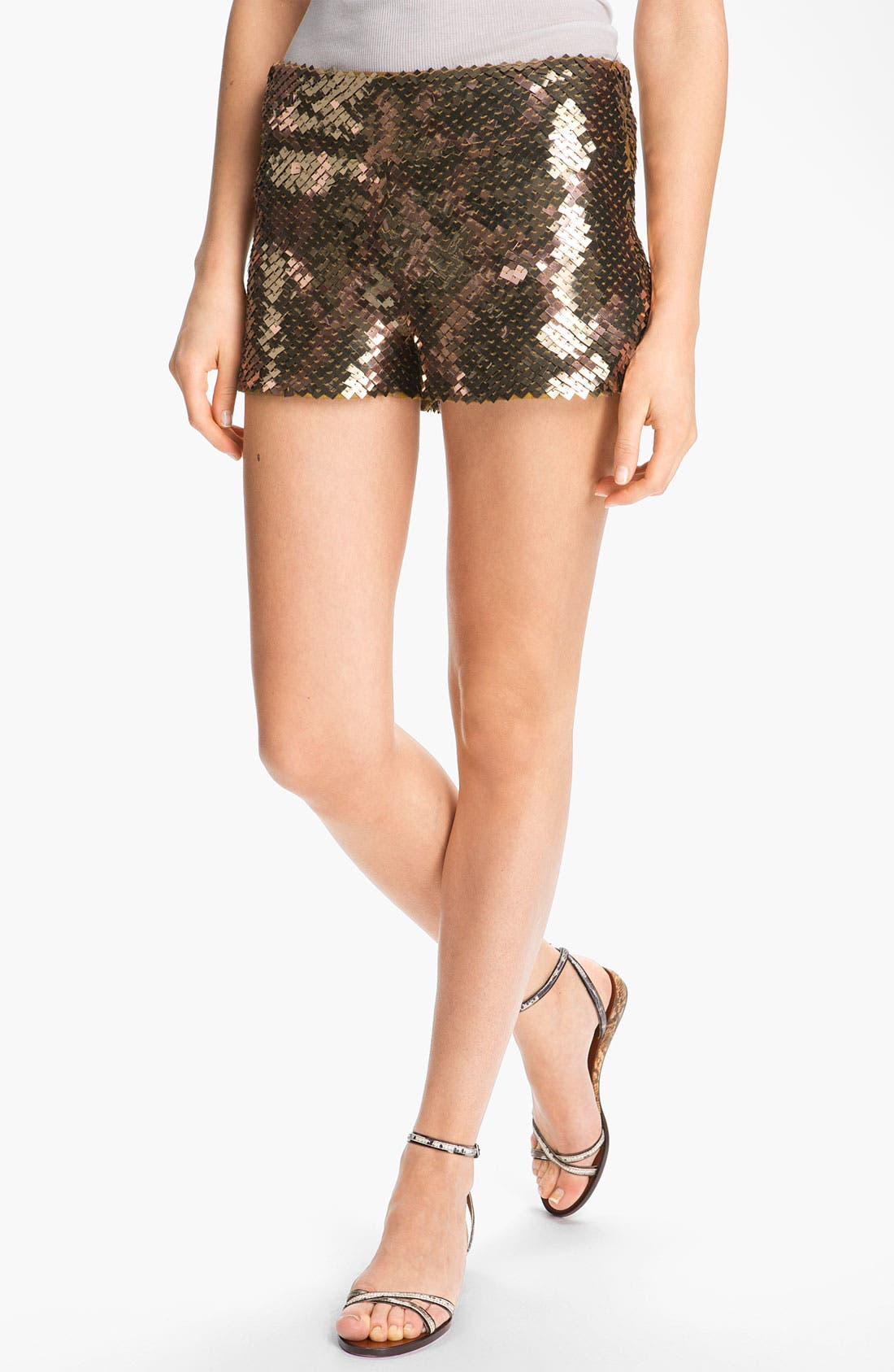 Alternate Image 1 Selected - Haute Hippie Sequin Shorts
