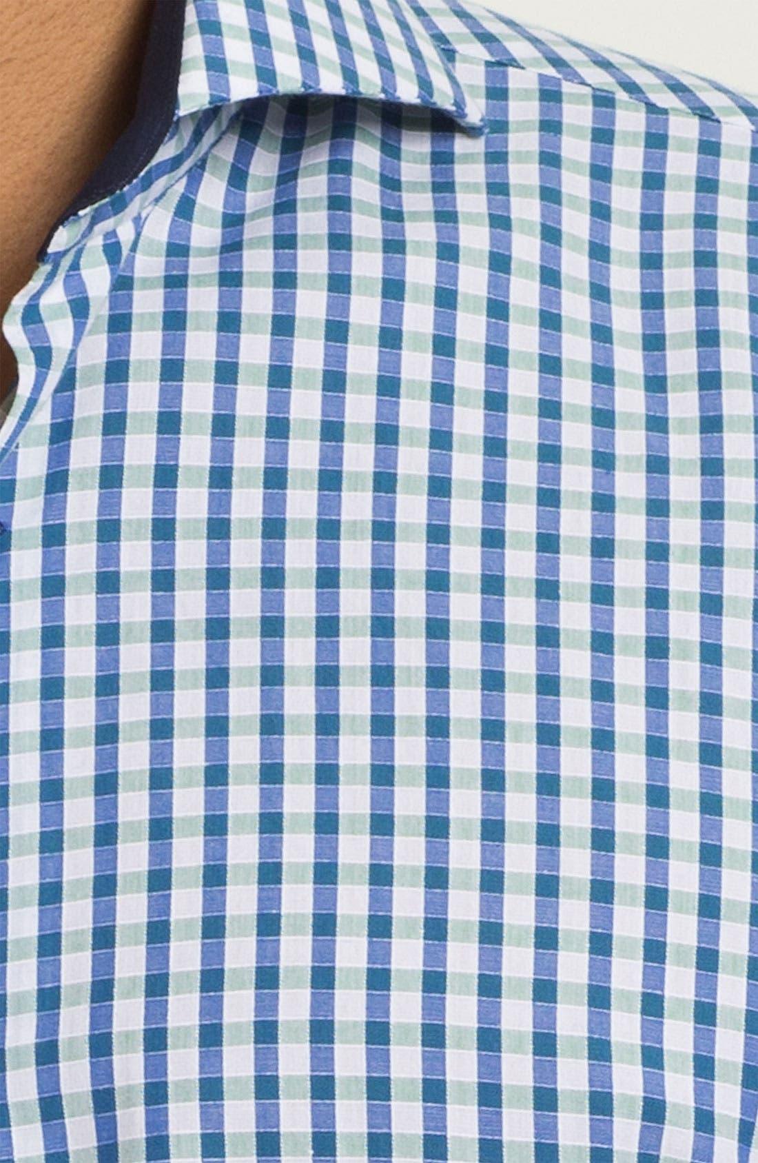 Alternate Image 3  - Bogosse 'Mini Georgio 43' Trim Fit Sport Shirt