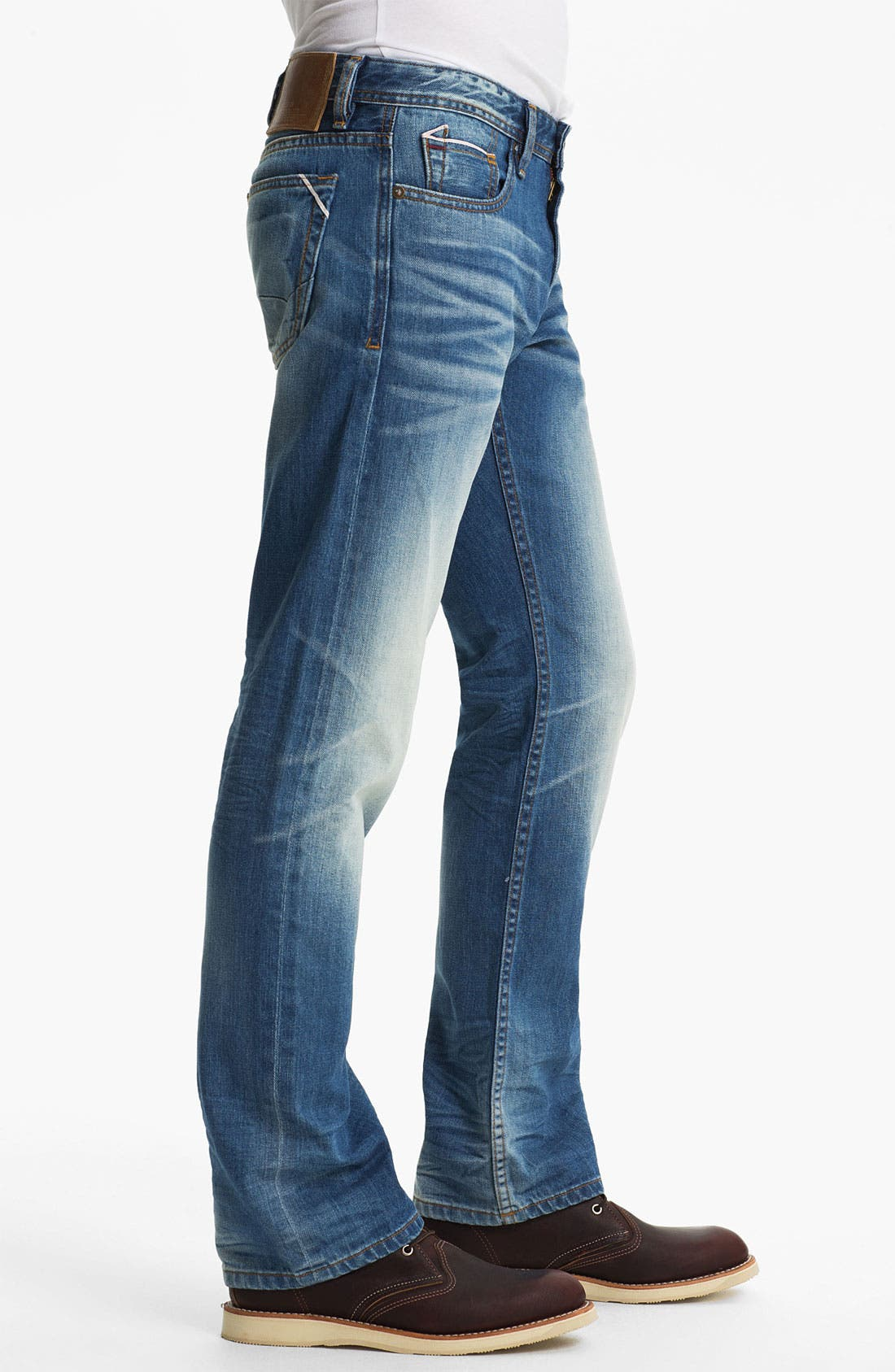 Alternate Image 3  - Cult of Individuality 'Rebel' Straight Leg Selvedge Jeans (Crafted)