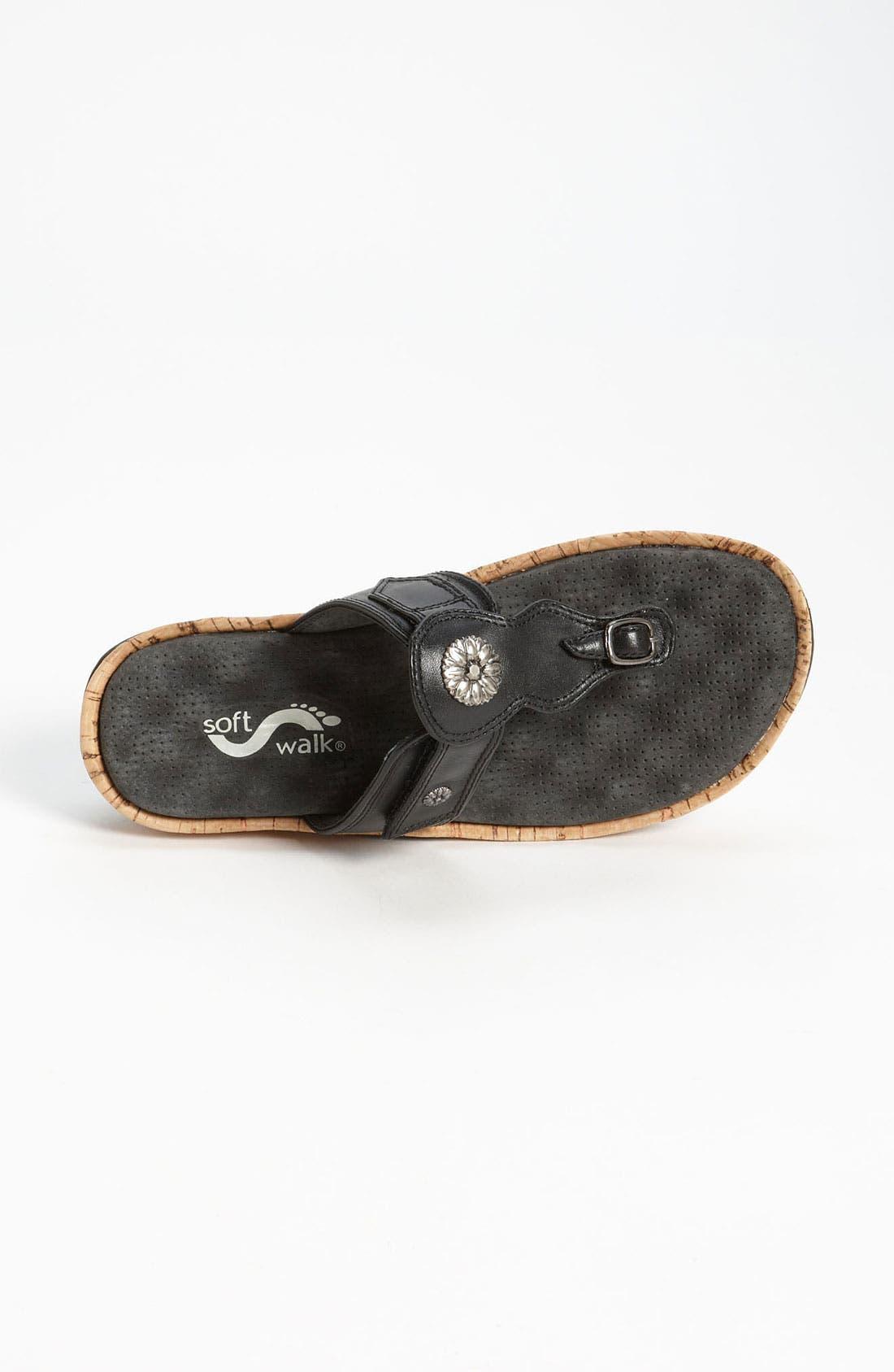 Alternate Image 3  - SoftWalk® 'Boulder' Sandal