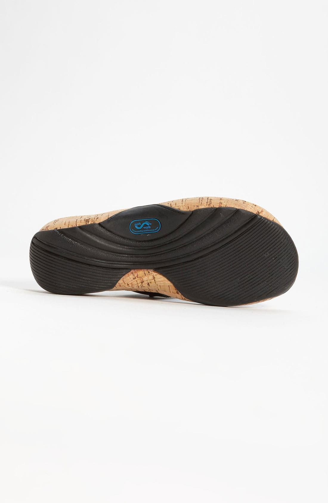 Alternate Image 4  - SoftWalk® 'Boulder' Sandal