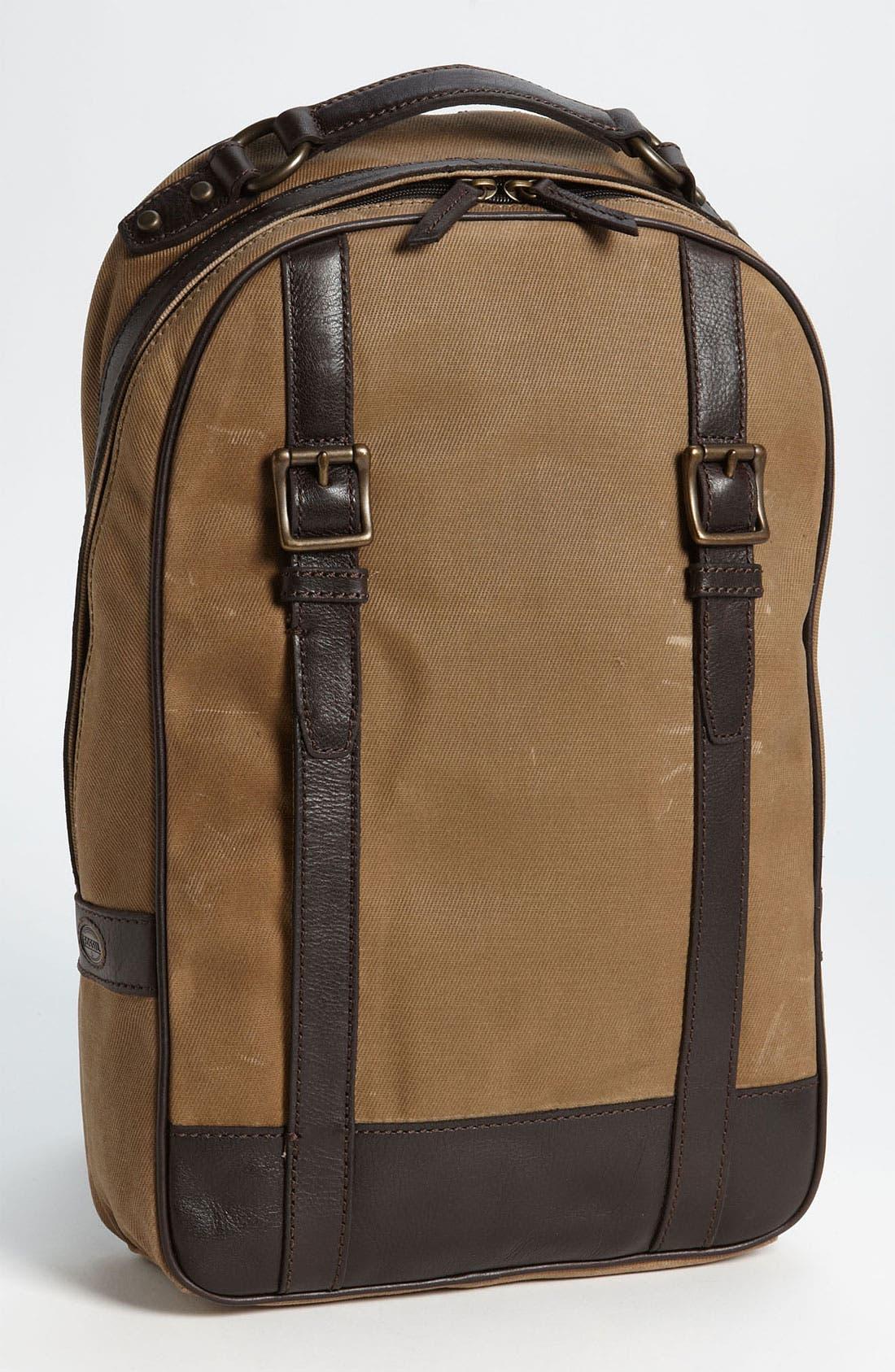 Alternate Image 1 Selected - Fossil 'Estate' Backpack
