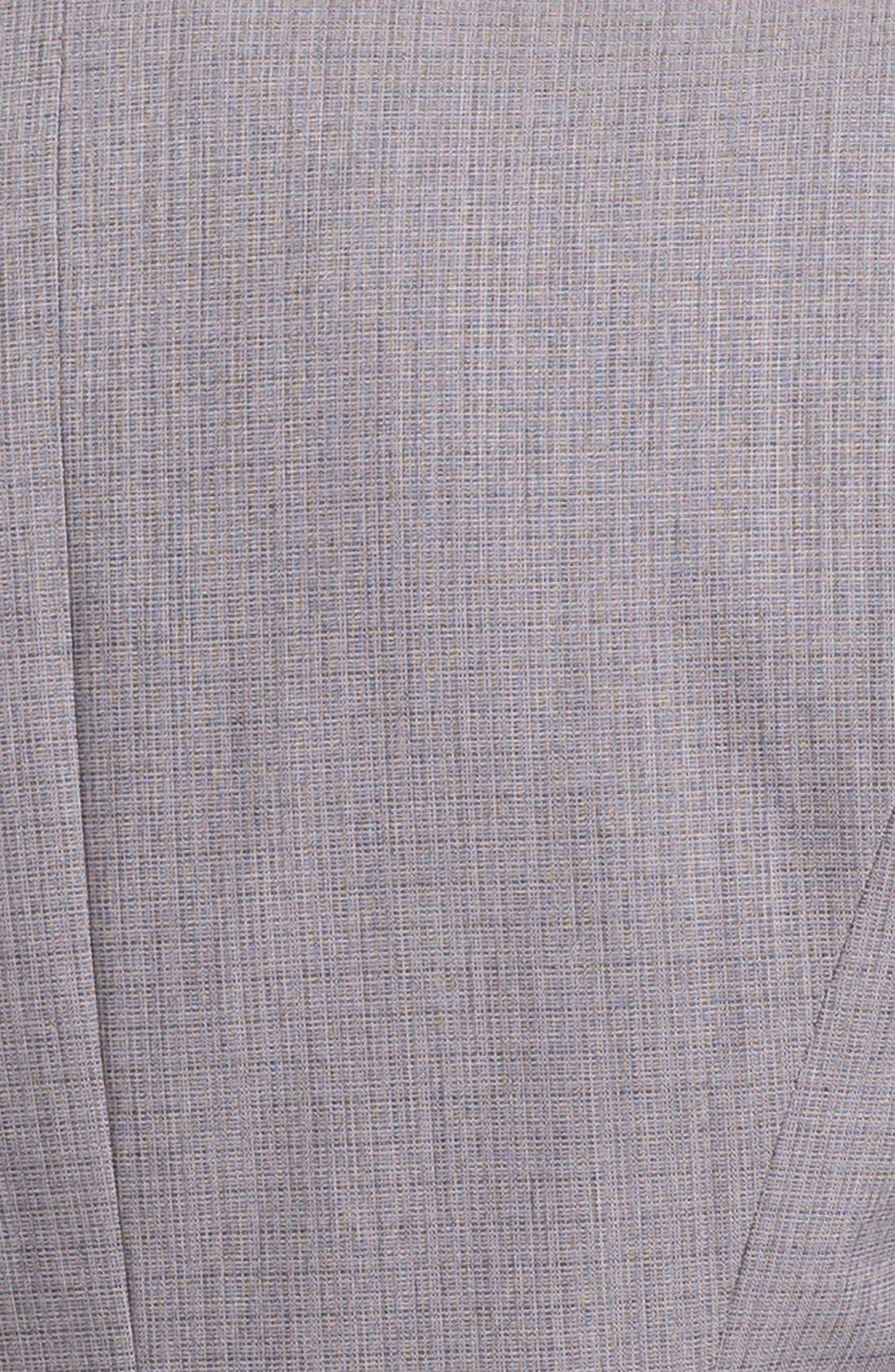 Alternate Image 3  - Halogen® Tonal Texture Suiting Jacket