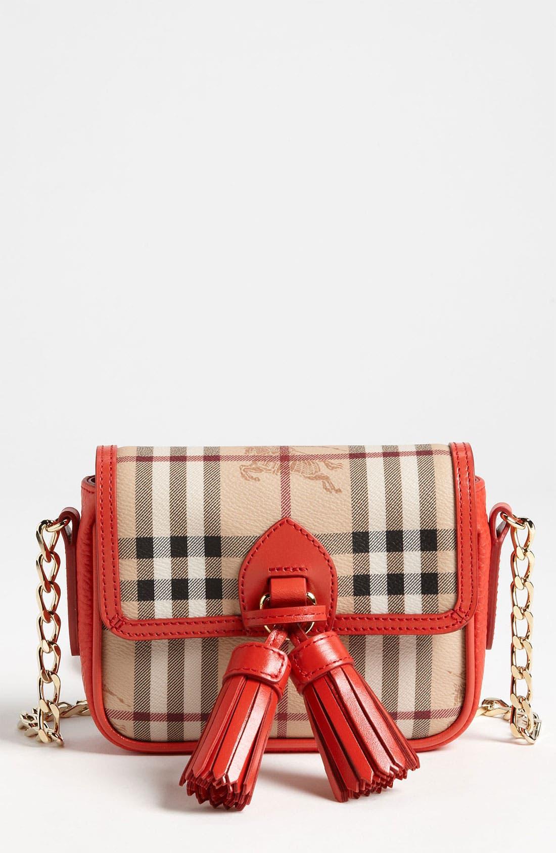 Alternate Image 1 Selected - Burberry 'Haymarket Color' Crossbody Bag