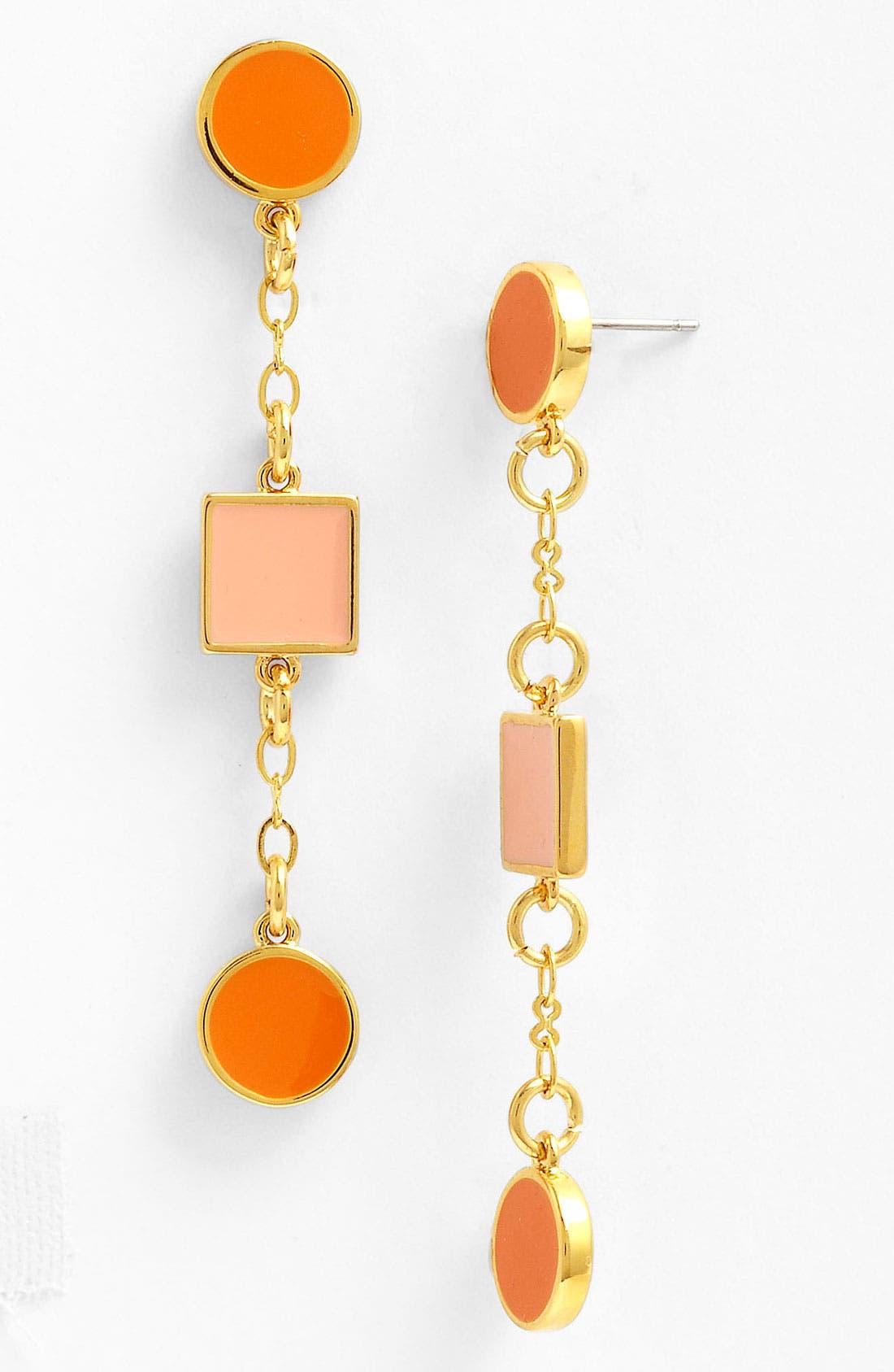 Main Image - Tory Burch 'Clemens' Linear Earrings