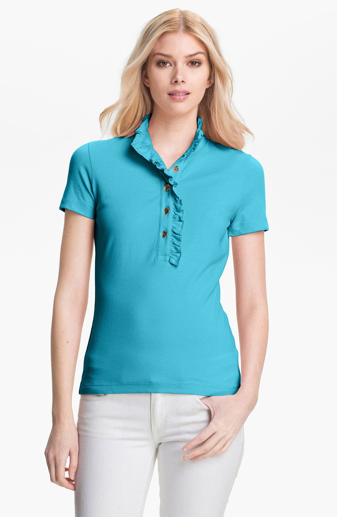 Alternate Image 1 Selected - Tory Burch 'Lidia' Polo