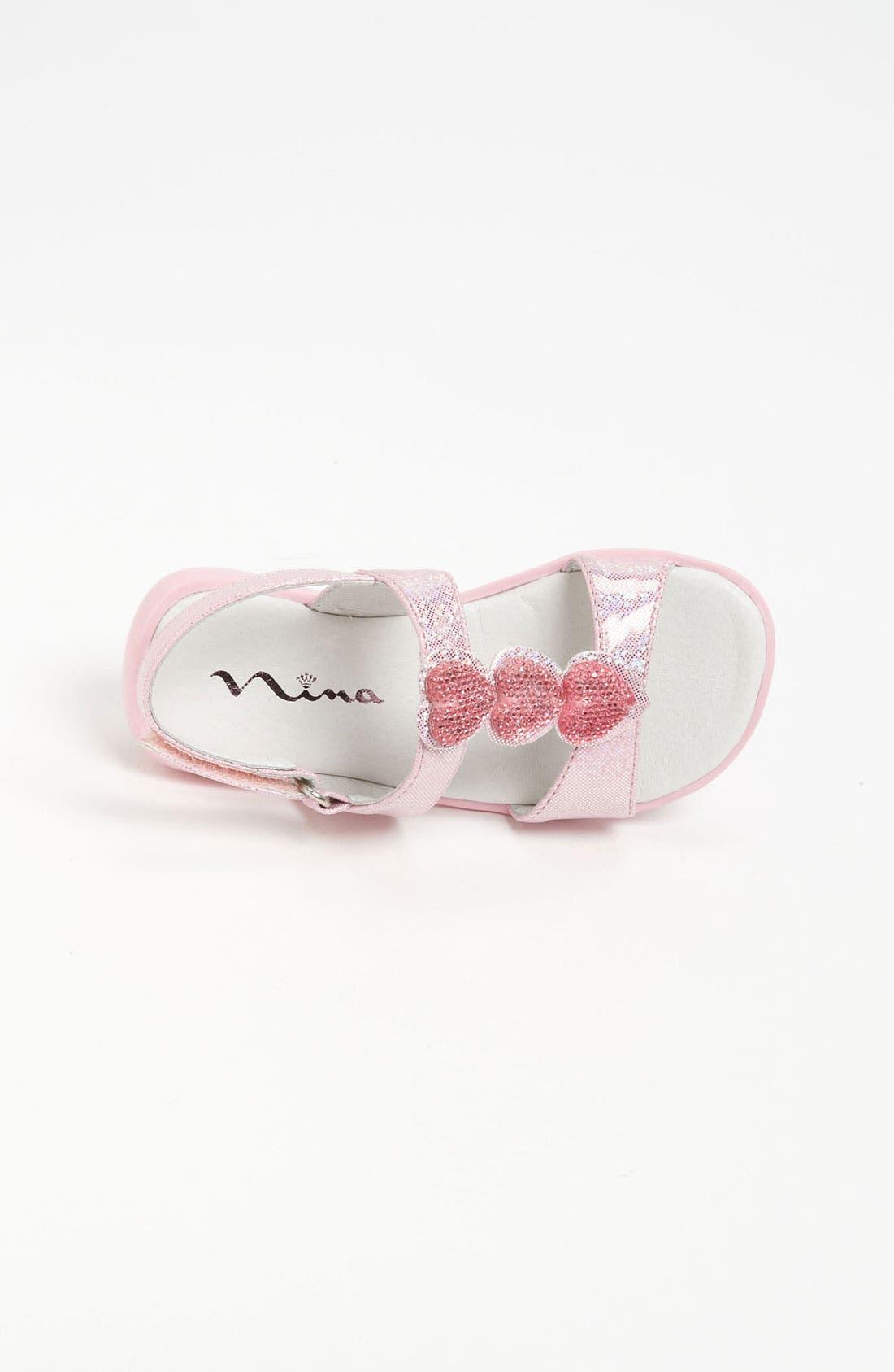 Alternate Image 3  - Nina 'Clarina' Heart Sandal (Walker & Toddler)