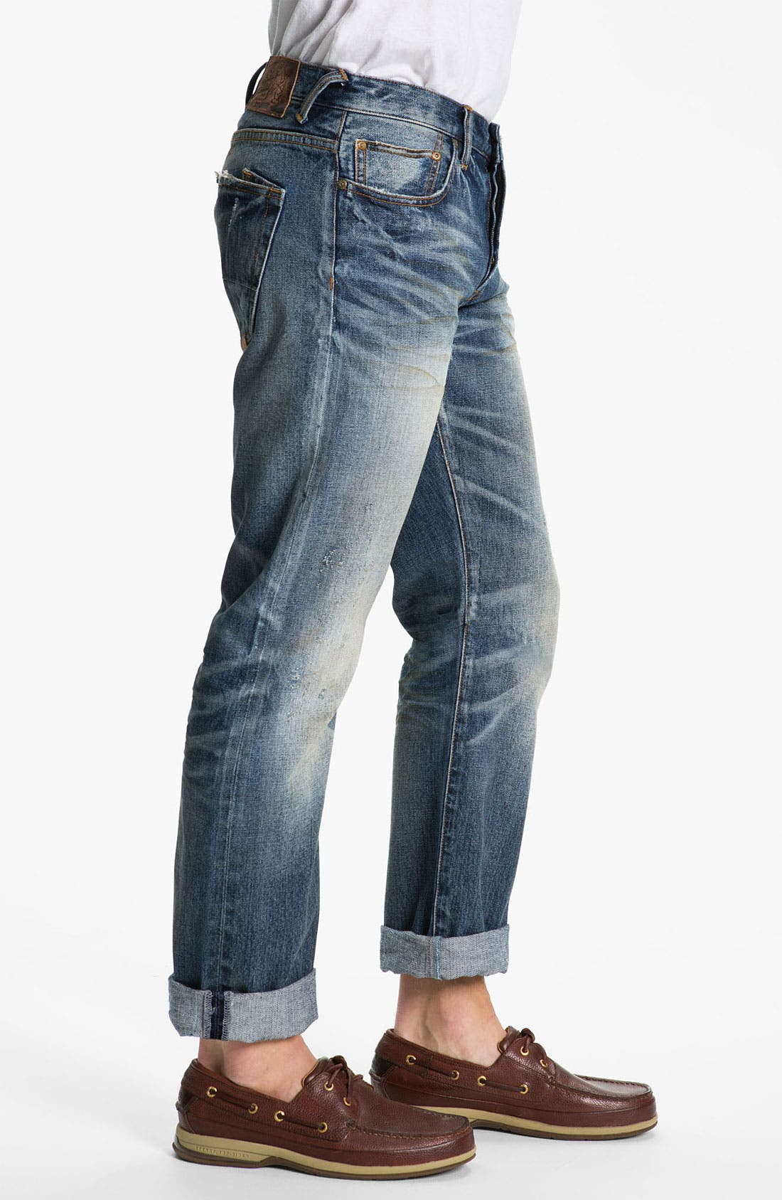 Alternate Image 3  - PRPS 'Barracuda' Straight Leg Jeans (Light Wash)