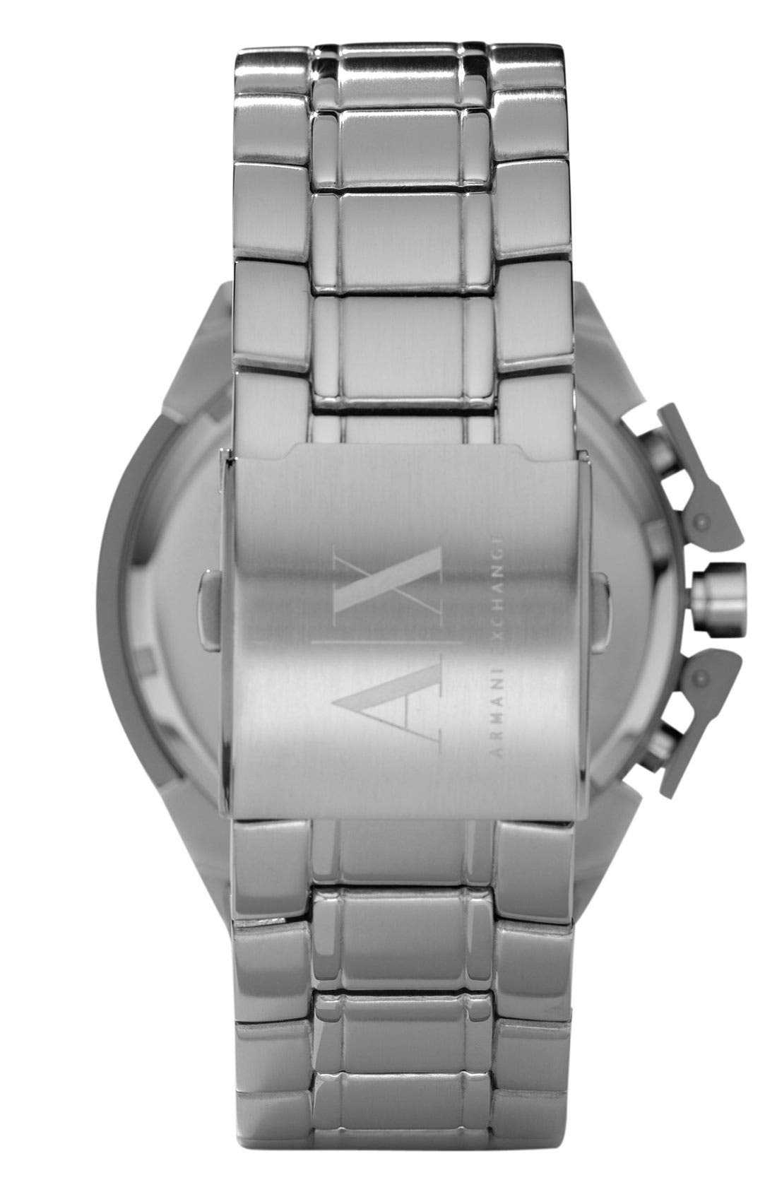 Alternate Image 2  - AX Armani Exchange Men's Chronograph Watch