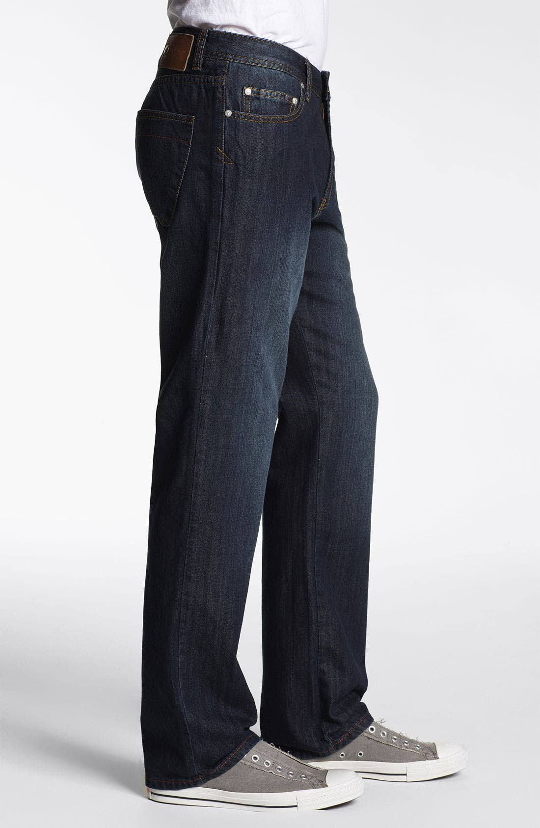 Alternate Image 3  - ROAD 'Freedom' Relaxed Fit Straight Leg Jeans (Dark Vintage)