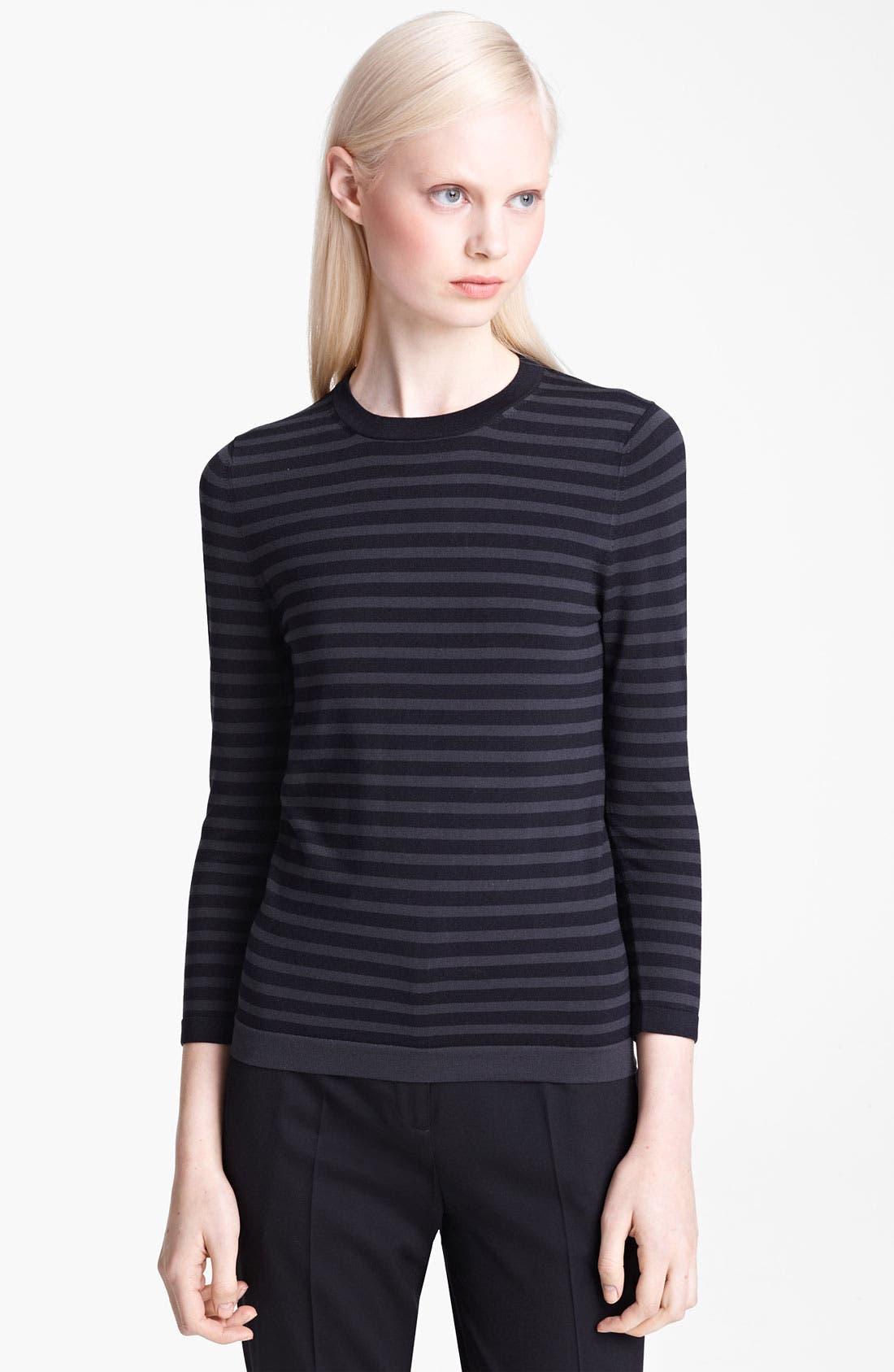 Alternate Image 1 Selected - Jil Sander Navy Stripe Sweater