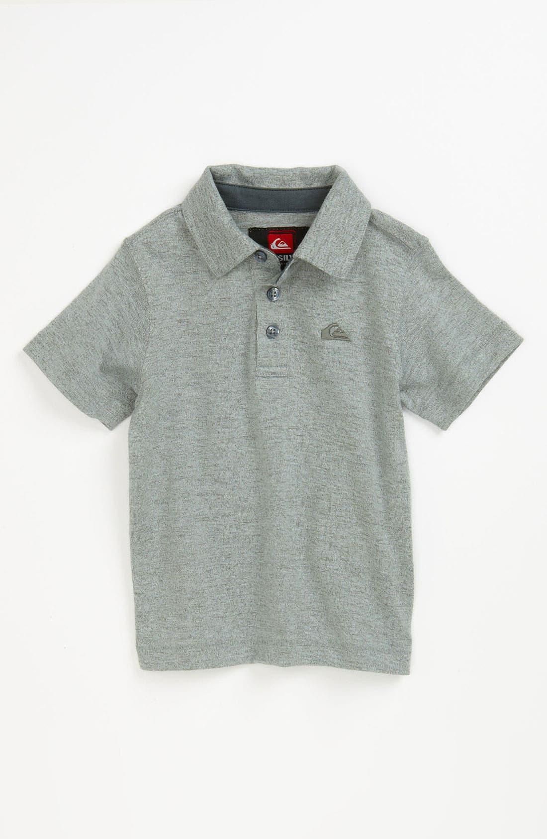 Alternate Image 1 Selected - Quiksilver 'Grab Bag' Polo Shirt (Baby)
