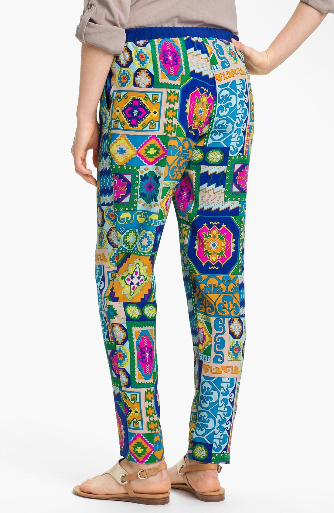 Alternate Image 2  - Trina Turk 'Lo-Fi' Silk Pants