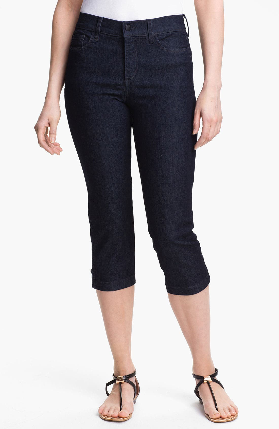 Alternate Image 1 Selected - NYDJ 'Winona' Crop Stretch Jeans