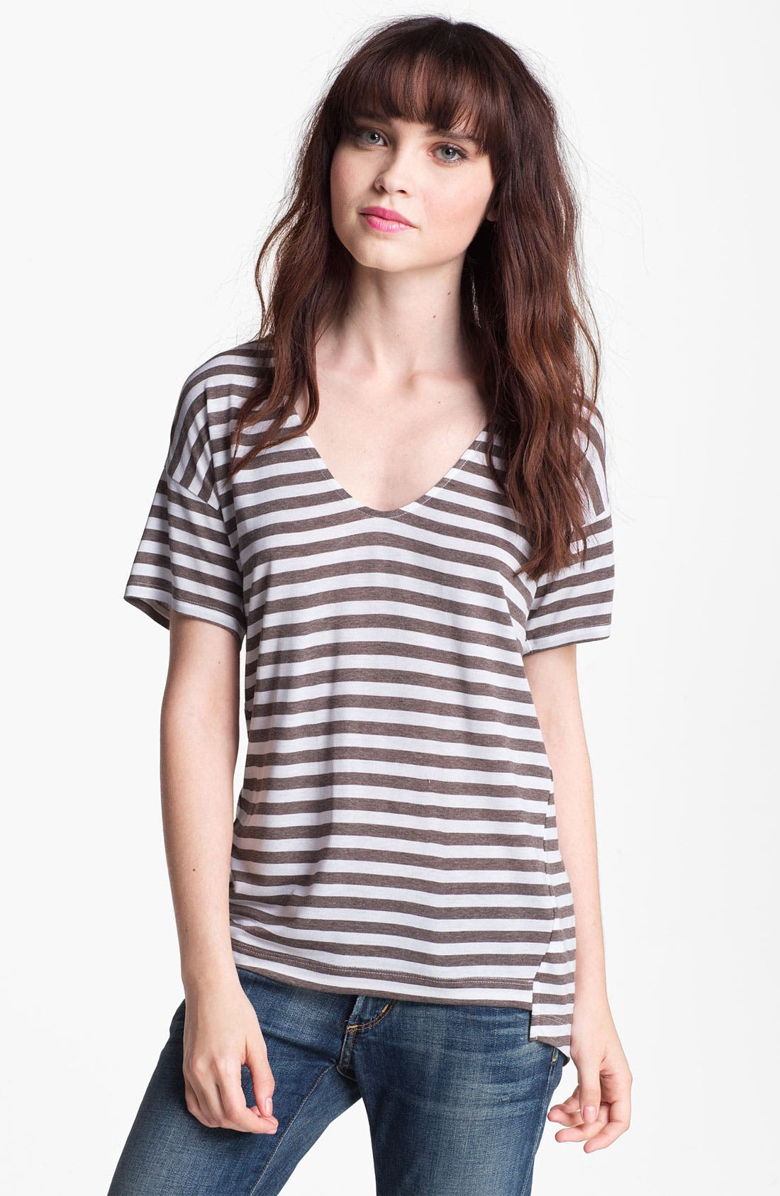 Alternate Image 1 Selected - Ella Moss Stripe Top