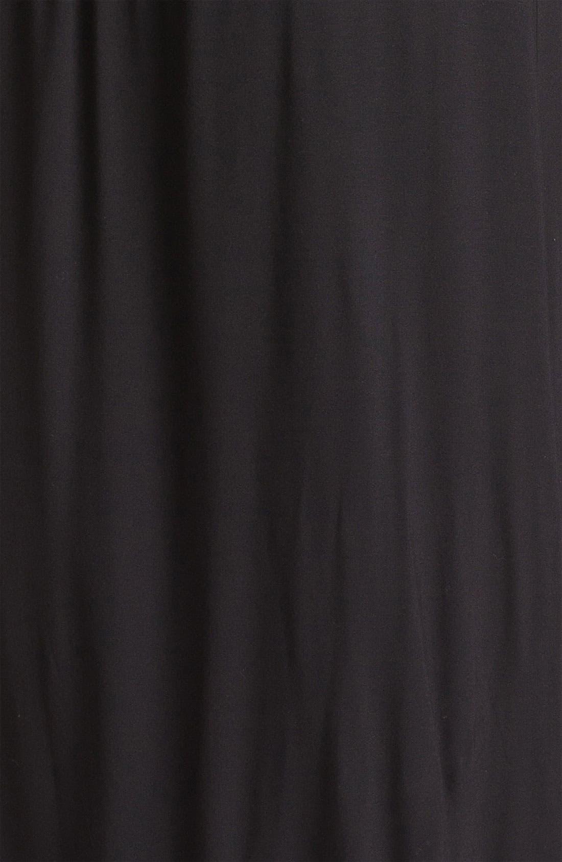 Alternate Image 3  - Calvin Klein Halter Jersey Maxi Dress (Plus Size)