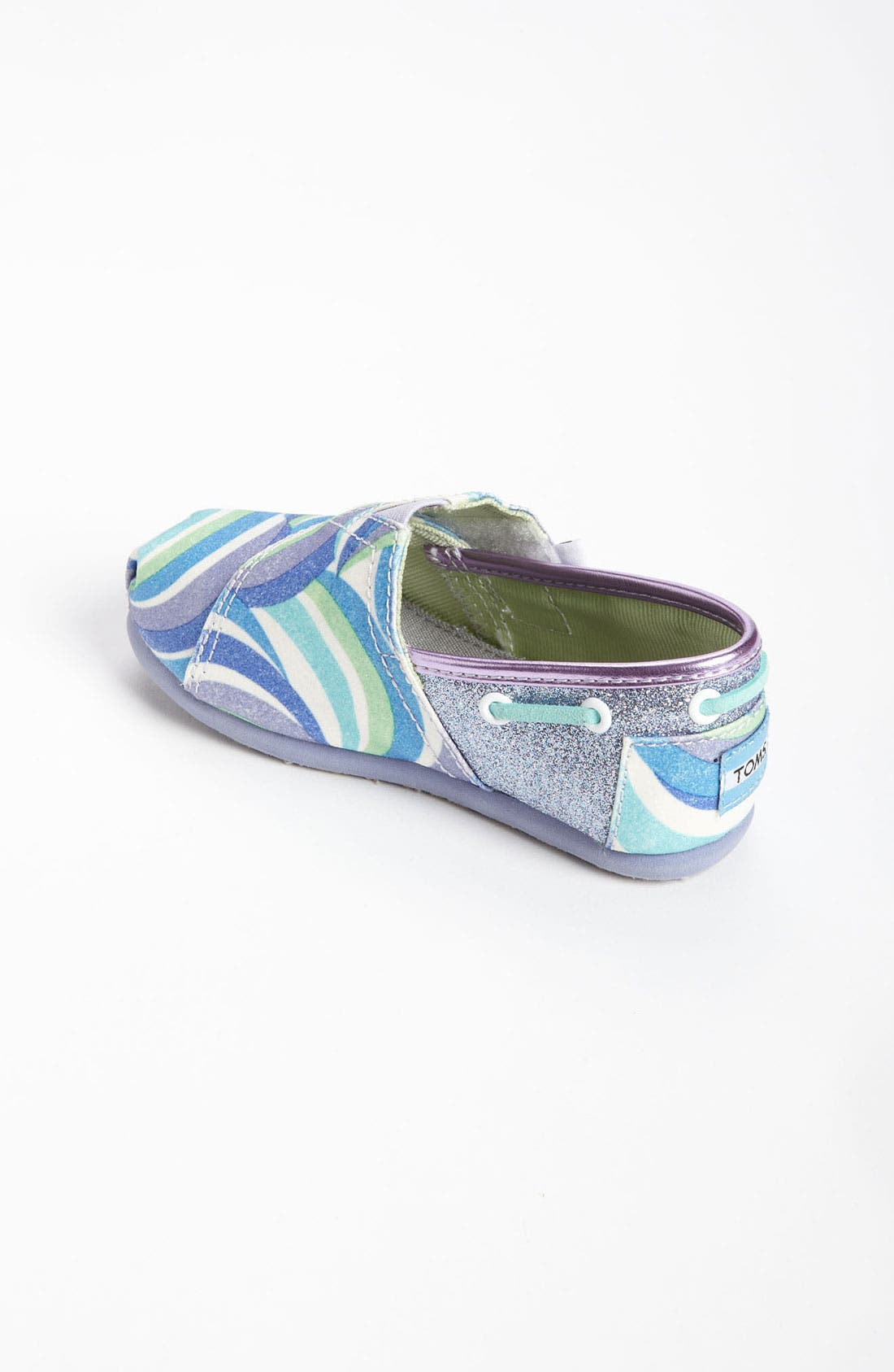 Alternate Image 2  - TOMS 'Classic Tiny - Swirl' Slip-On (Baby, Walker & Toddler)