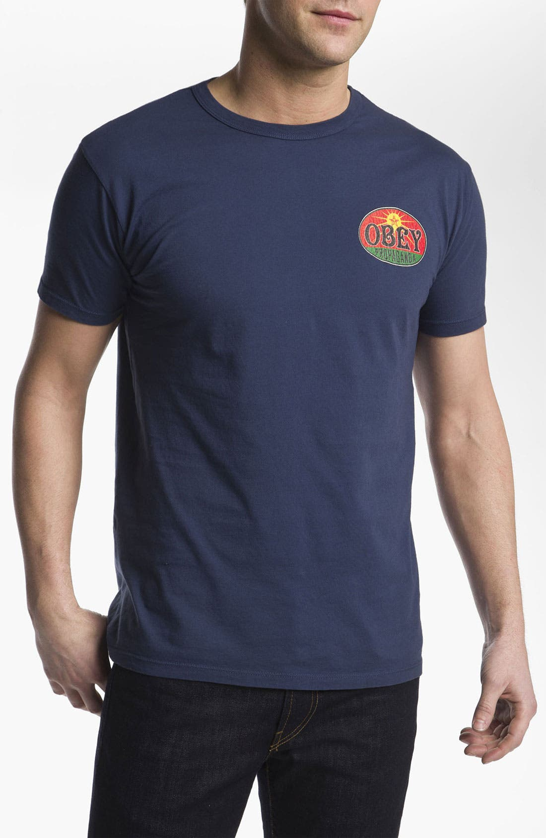 Alternate Image 1 Selected - Obey 'Rising Sun' T-Shirt