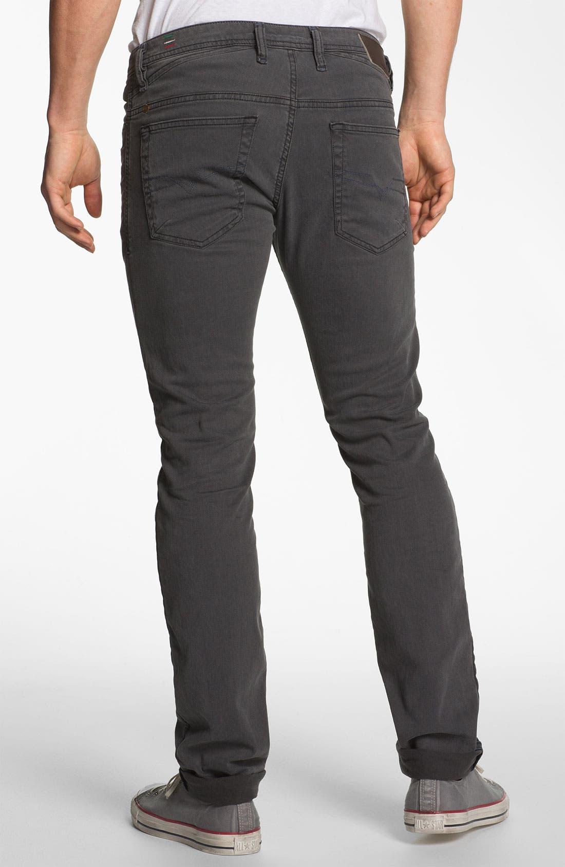 Alternate Image 1 Selected - DIESEL® 'Shioner' Slim Straight Leg Jeans