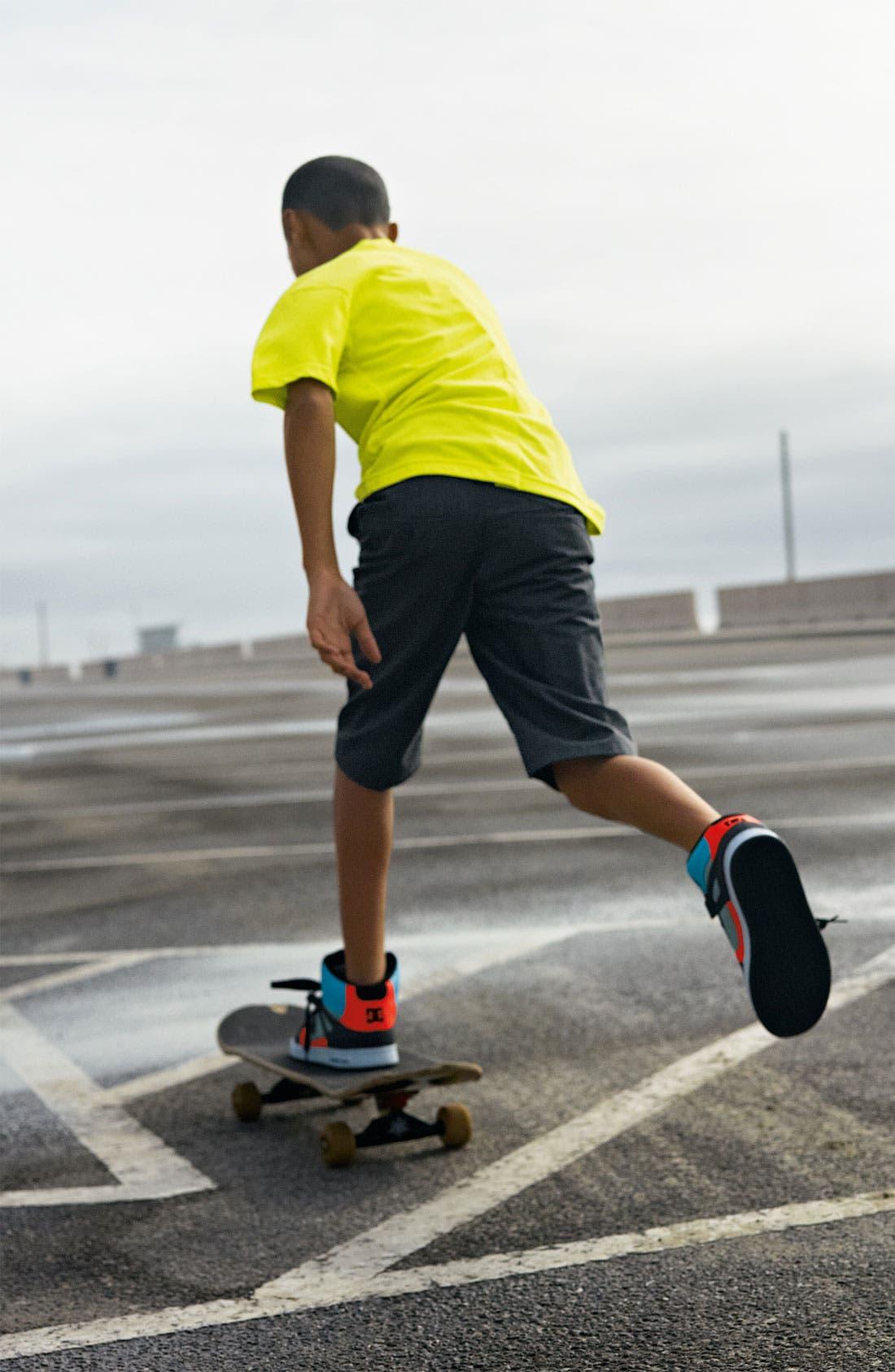 Alternate Image 5  - DC Shoes 'Rebound' Skate Shoe (Toddler, Little Kid & Big Kid)