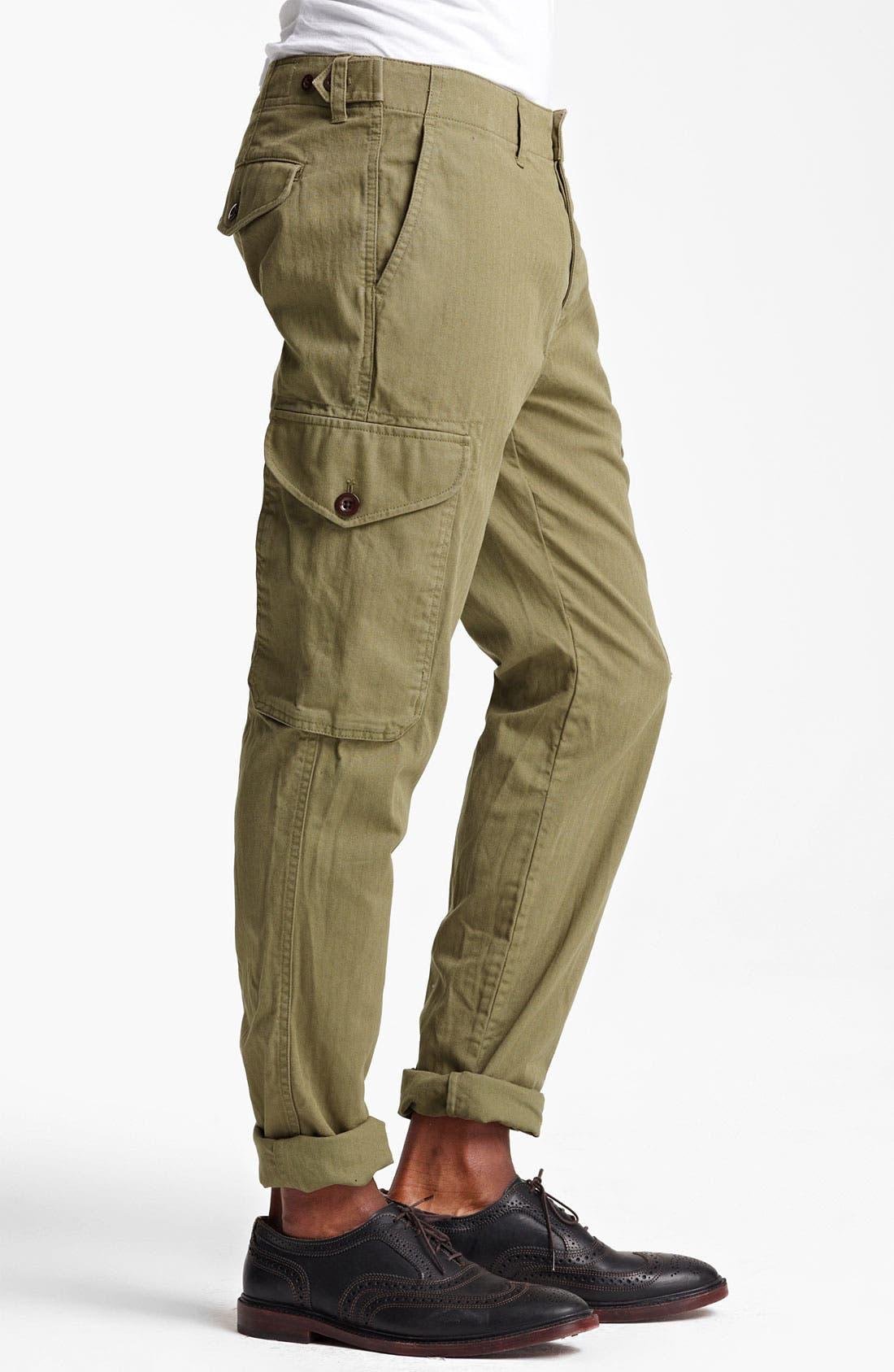 Alternate Image 3  - Todd Snyder Slim Fit Infantry Pants