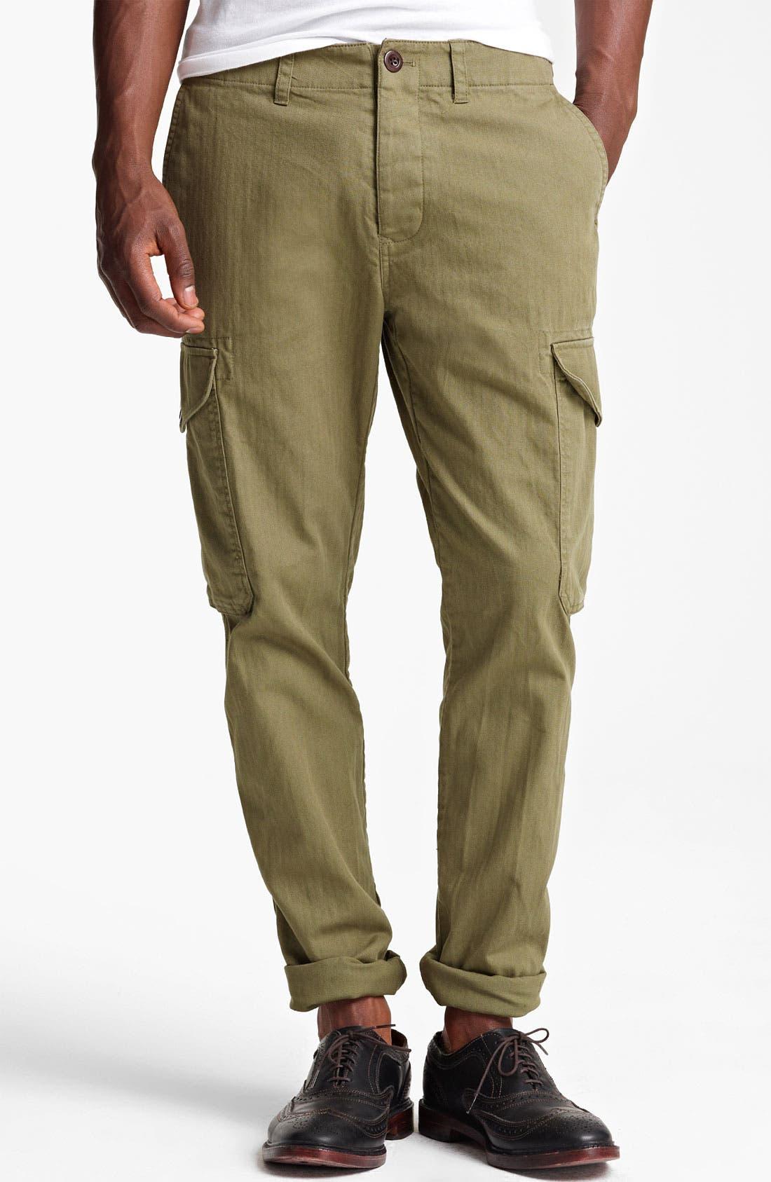 Main Image - Todd Snyder Slim Fit Infantry Pants