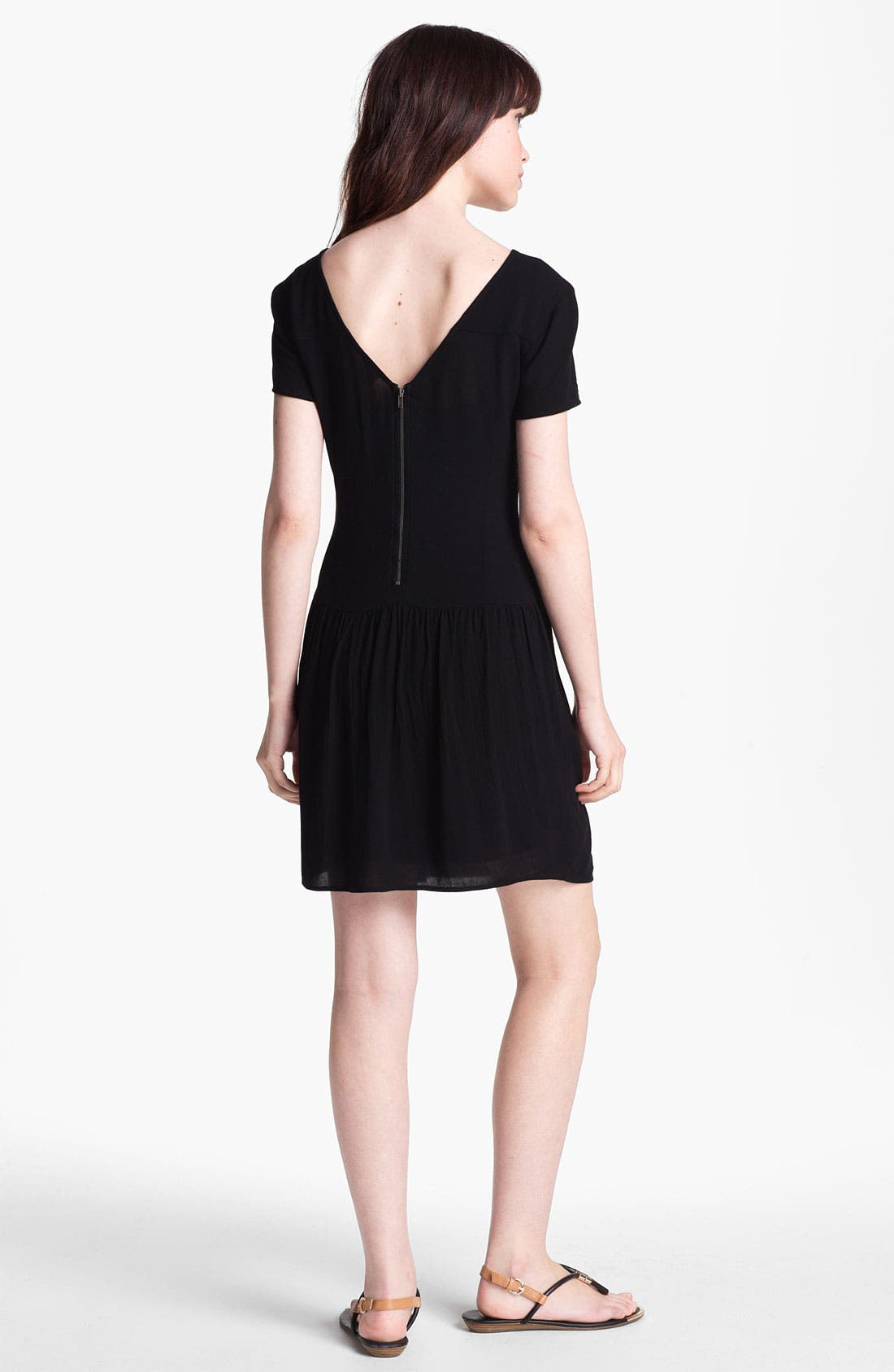 Alternate Image 2  - Ella Moss Drop Waist Dress